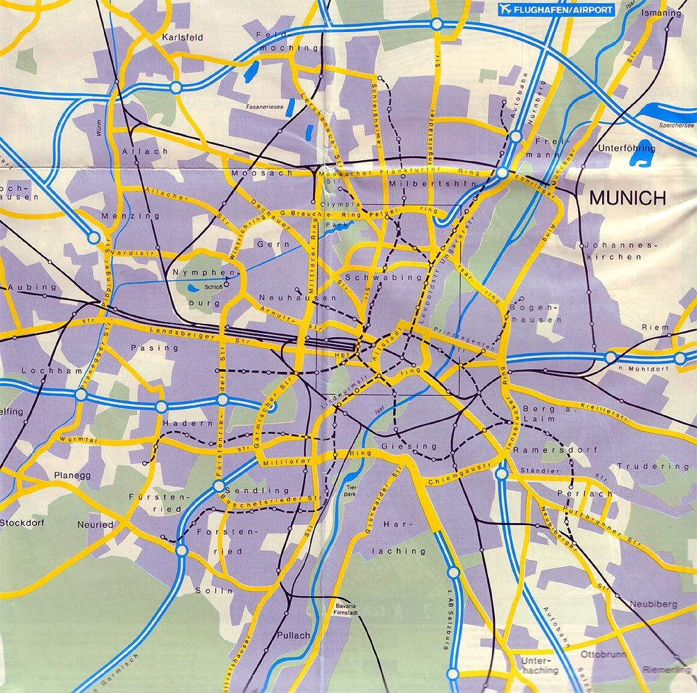 Carreteras de Acceso a Múnich