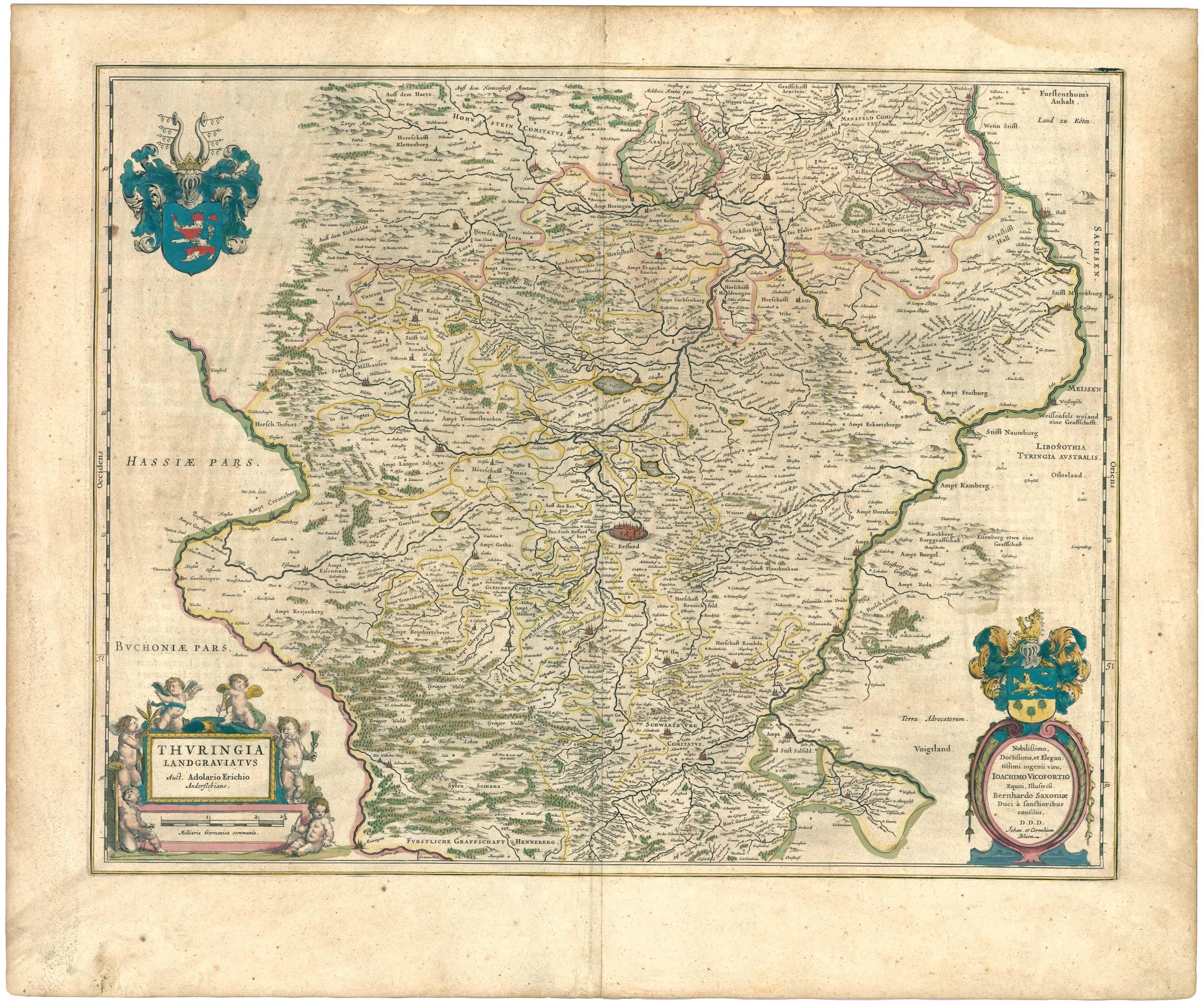 Landgraviate of Thuringia 1645