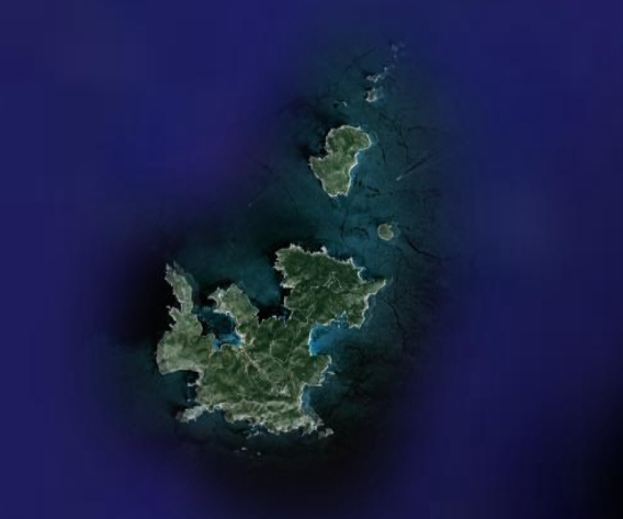 Satellite map of Cabrera Archipelago