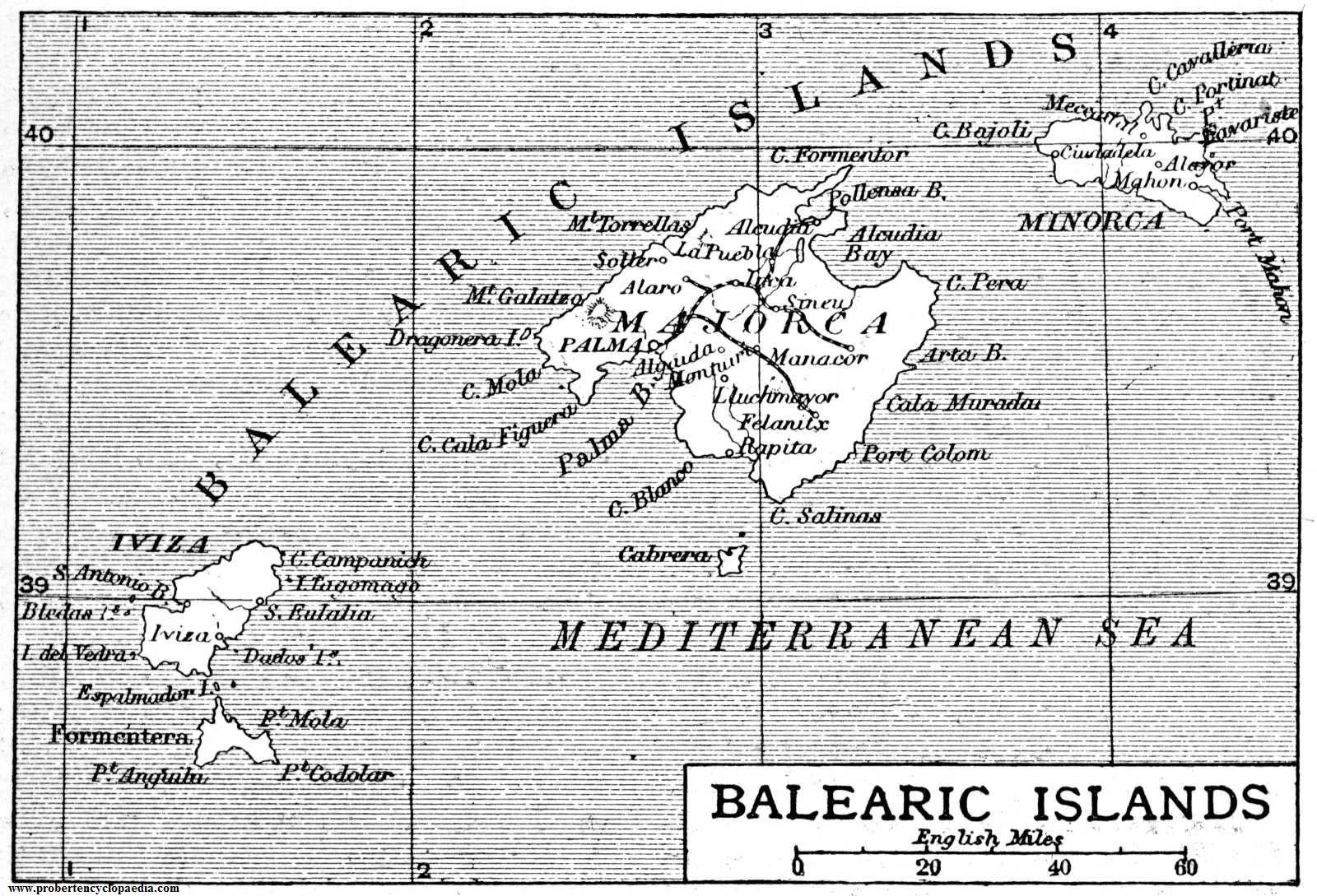 The Balearic Islands 1906