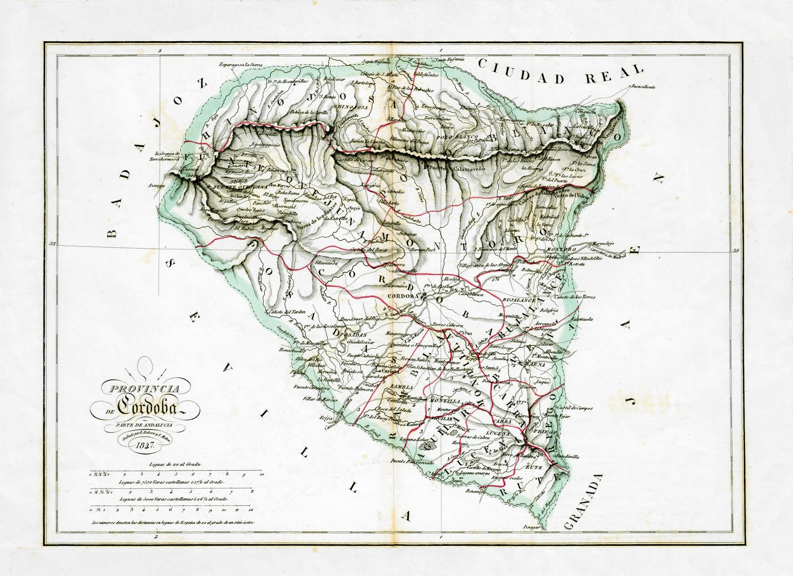 Province of Córdoba in 1847