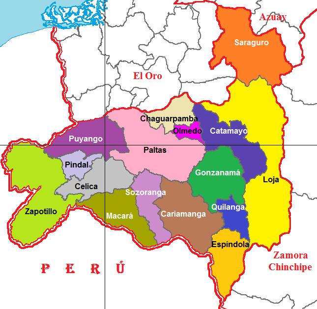 Cantones de Loja 2011