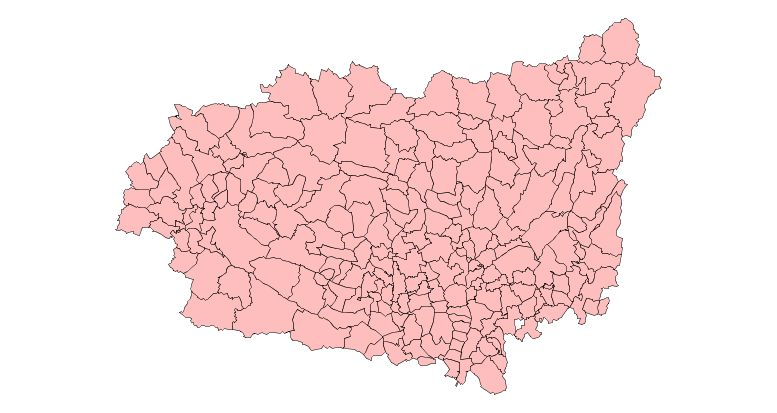 Municipalities of the Province of León 2003