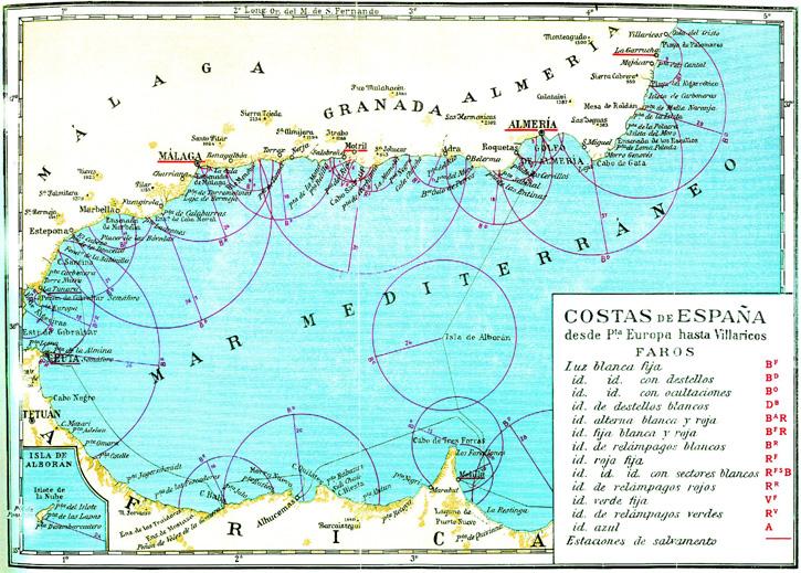 Costa de España desde Puerta Europa hasta Villarico