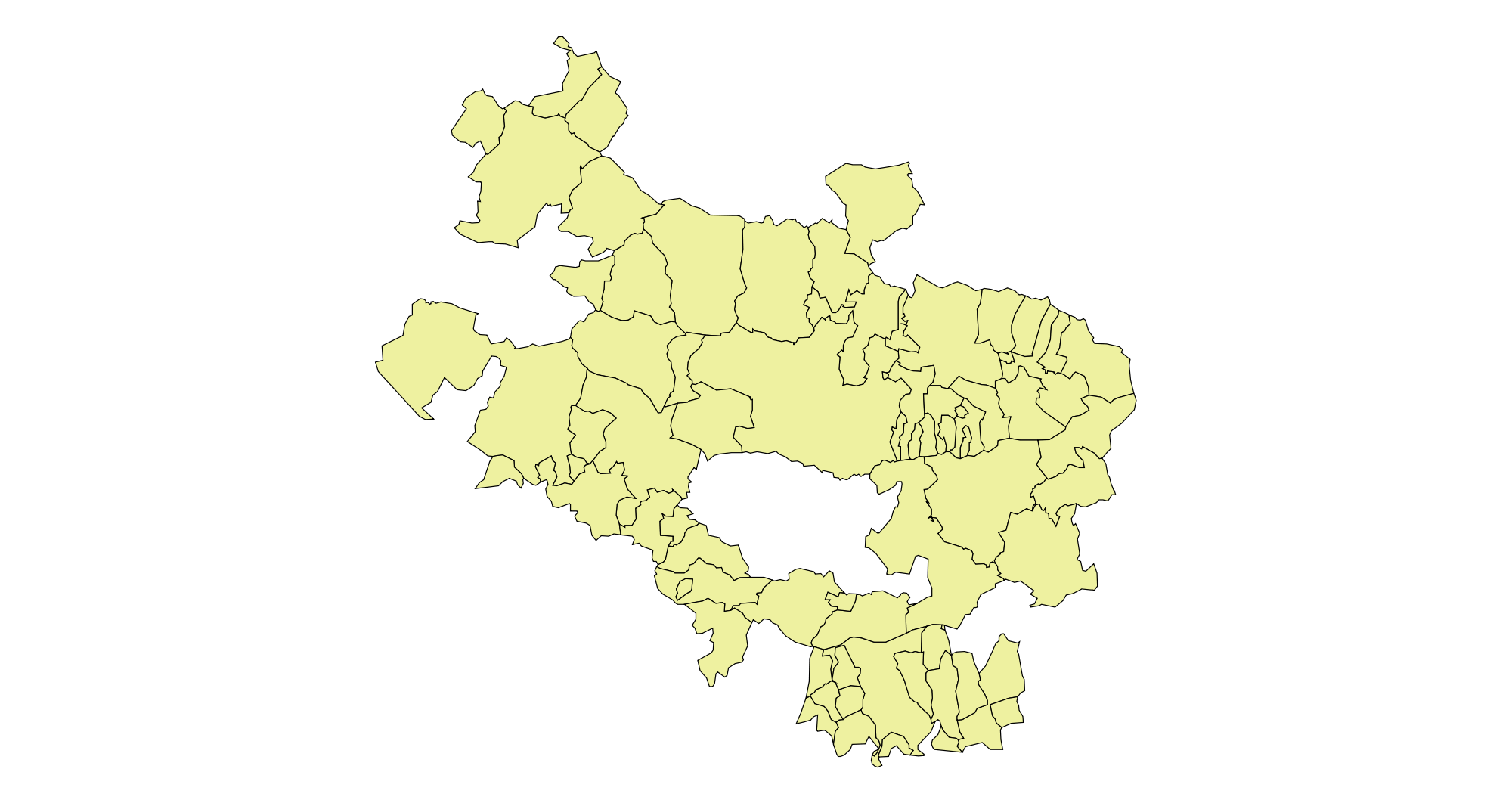 Municipalities of Álava 2003