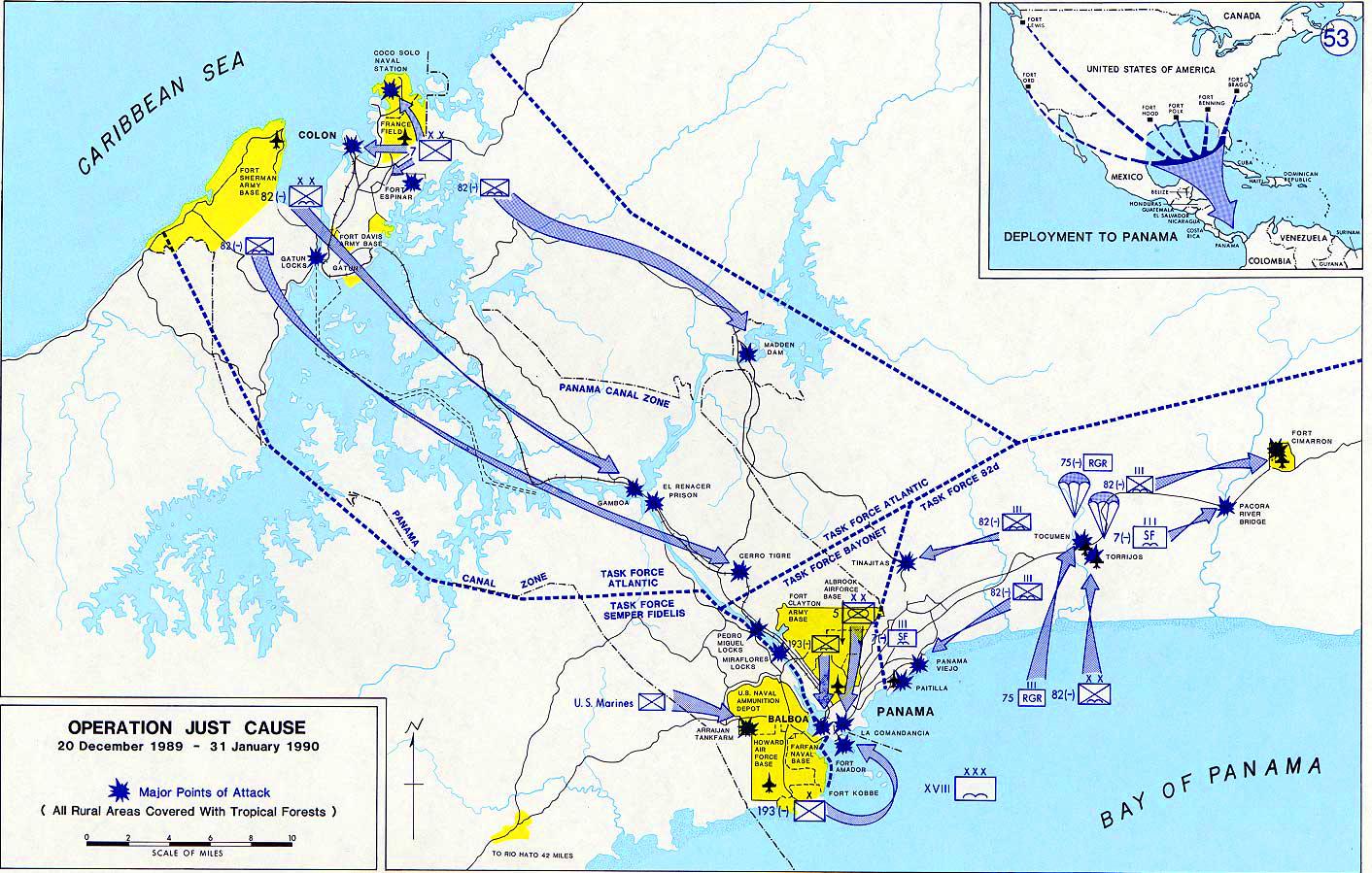 Operación Causa Justa, 20 Diciembre 1989 - 31 de enero 1990