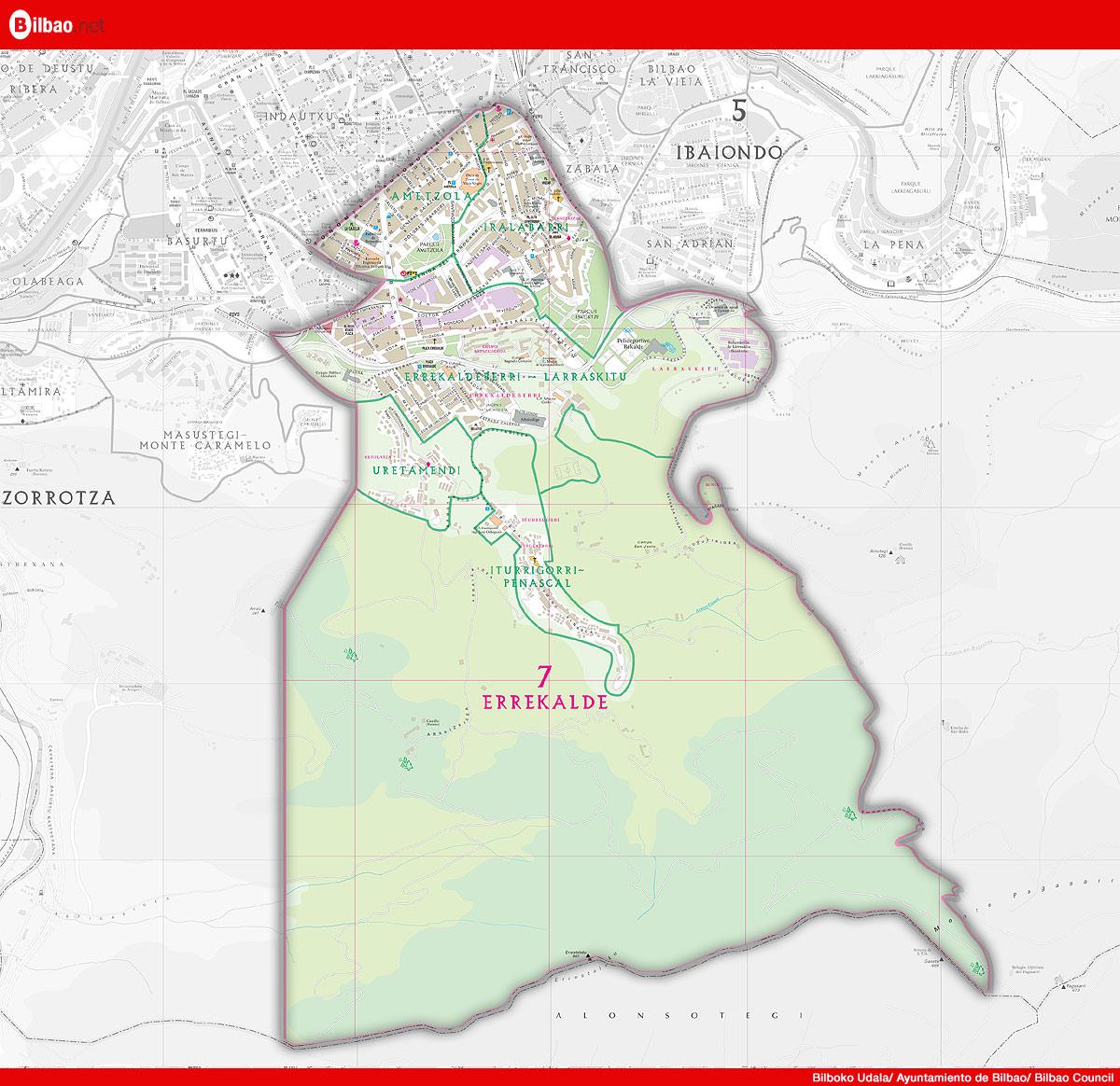 Recalde district