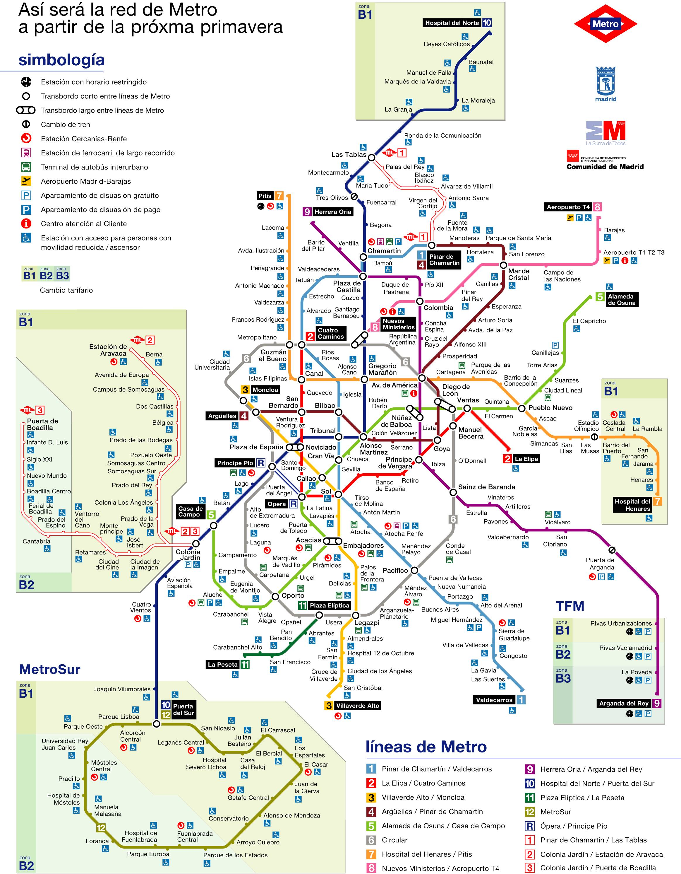 Madrid subway 2007