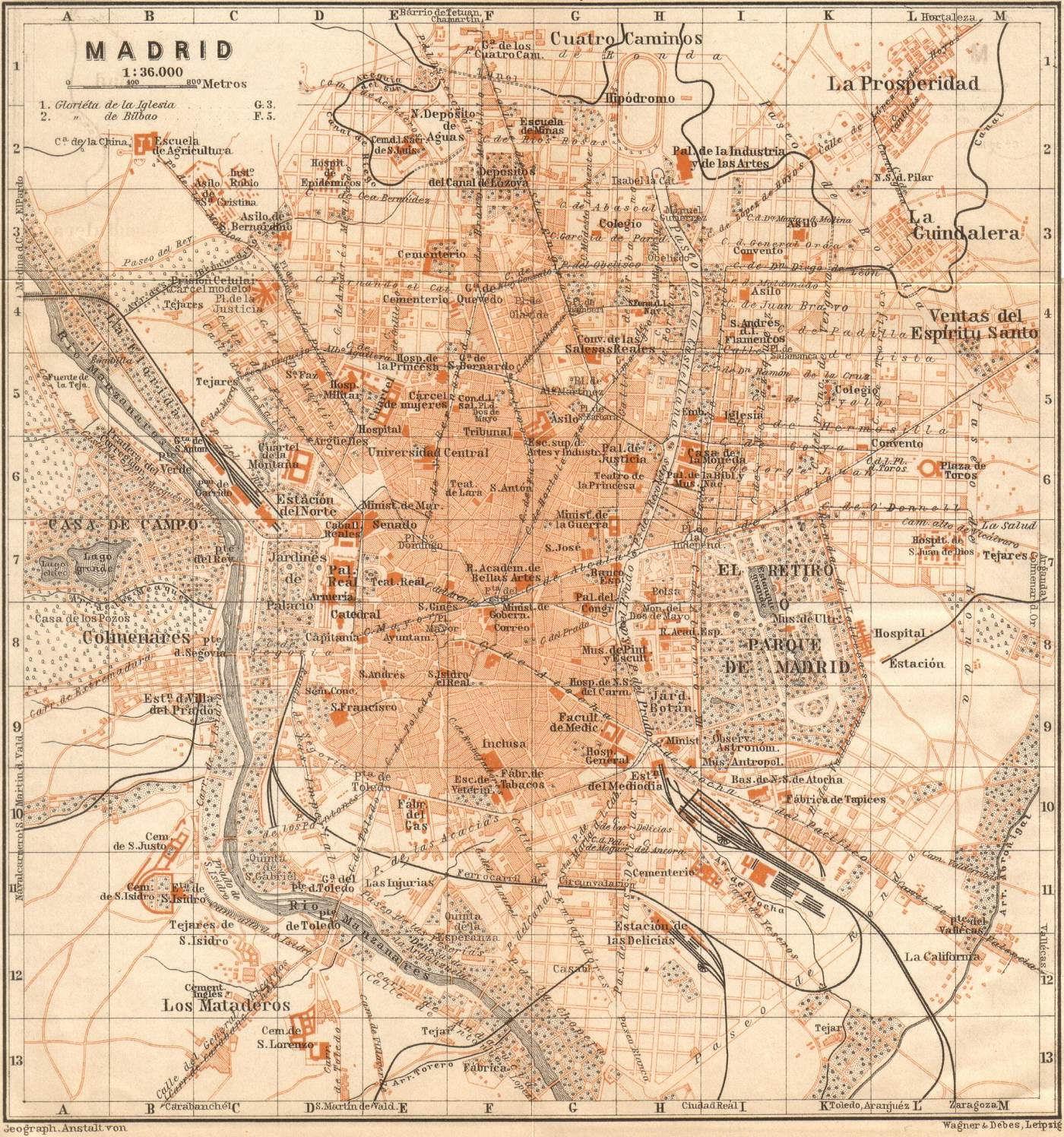 Madrid in 1901