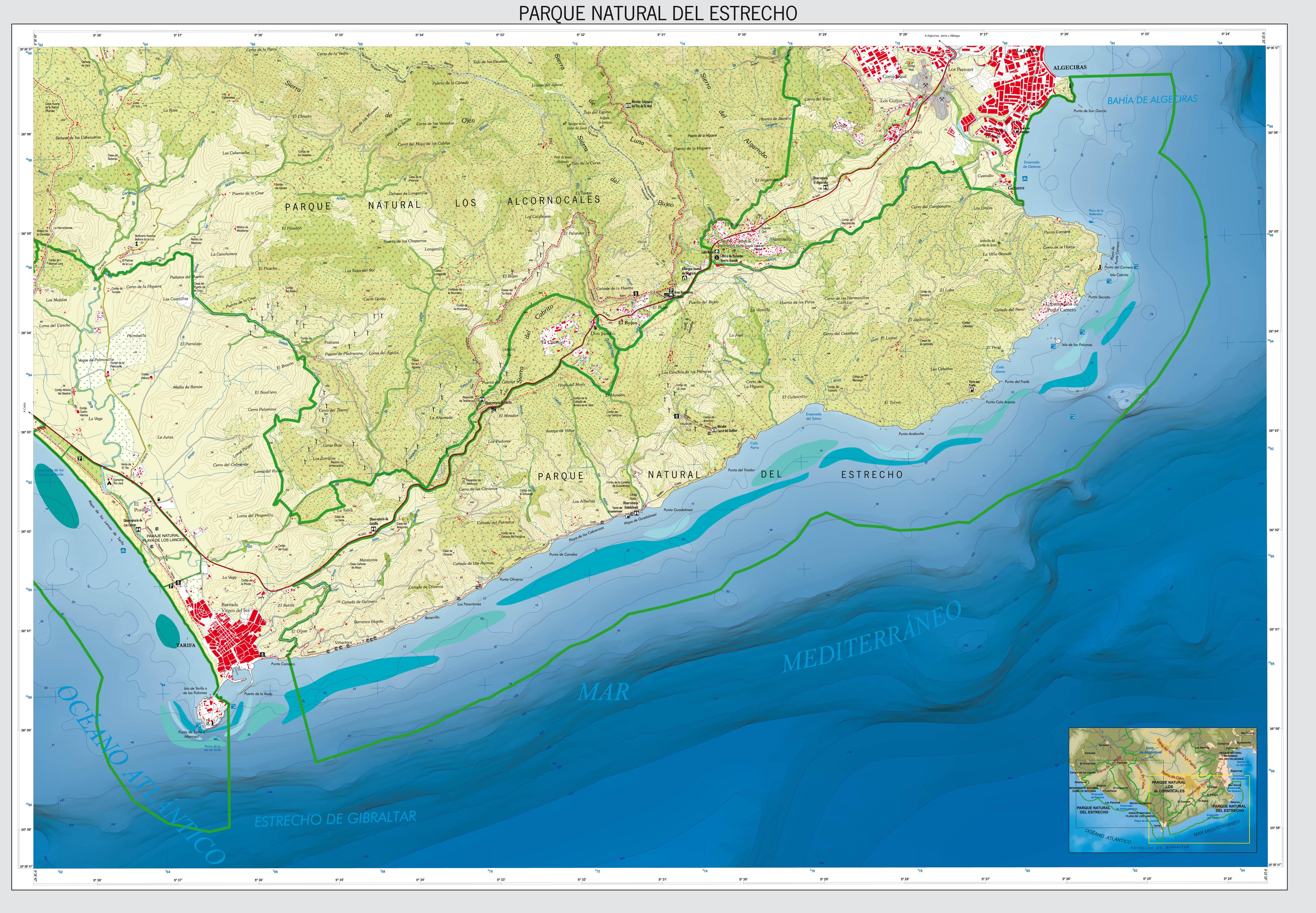 Zona oriental Parque Natural del Estrecho 2008