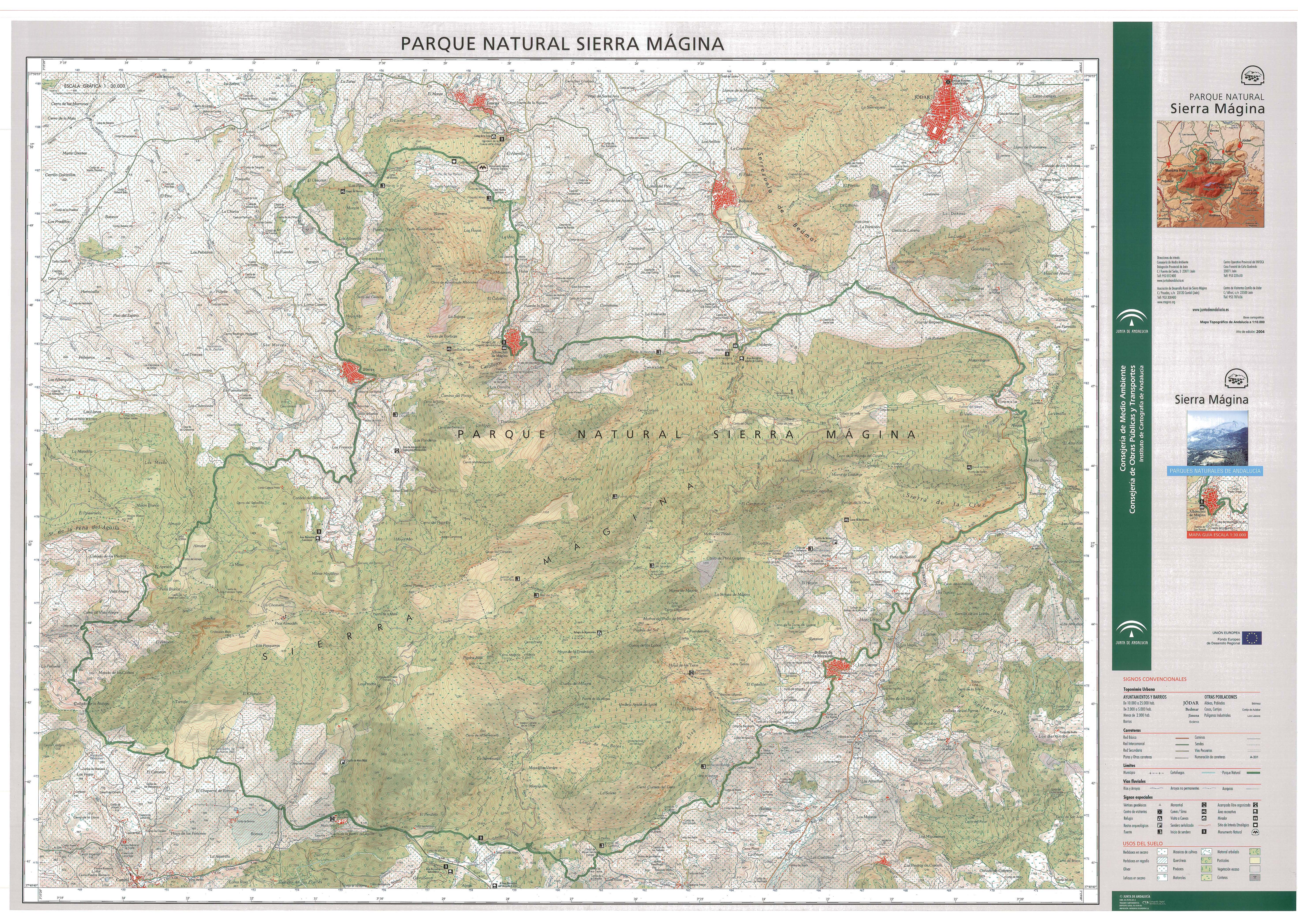 Parque Natural de Sierra Mágina 2004