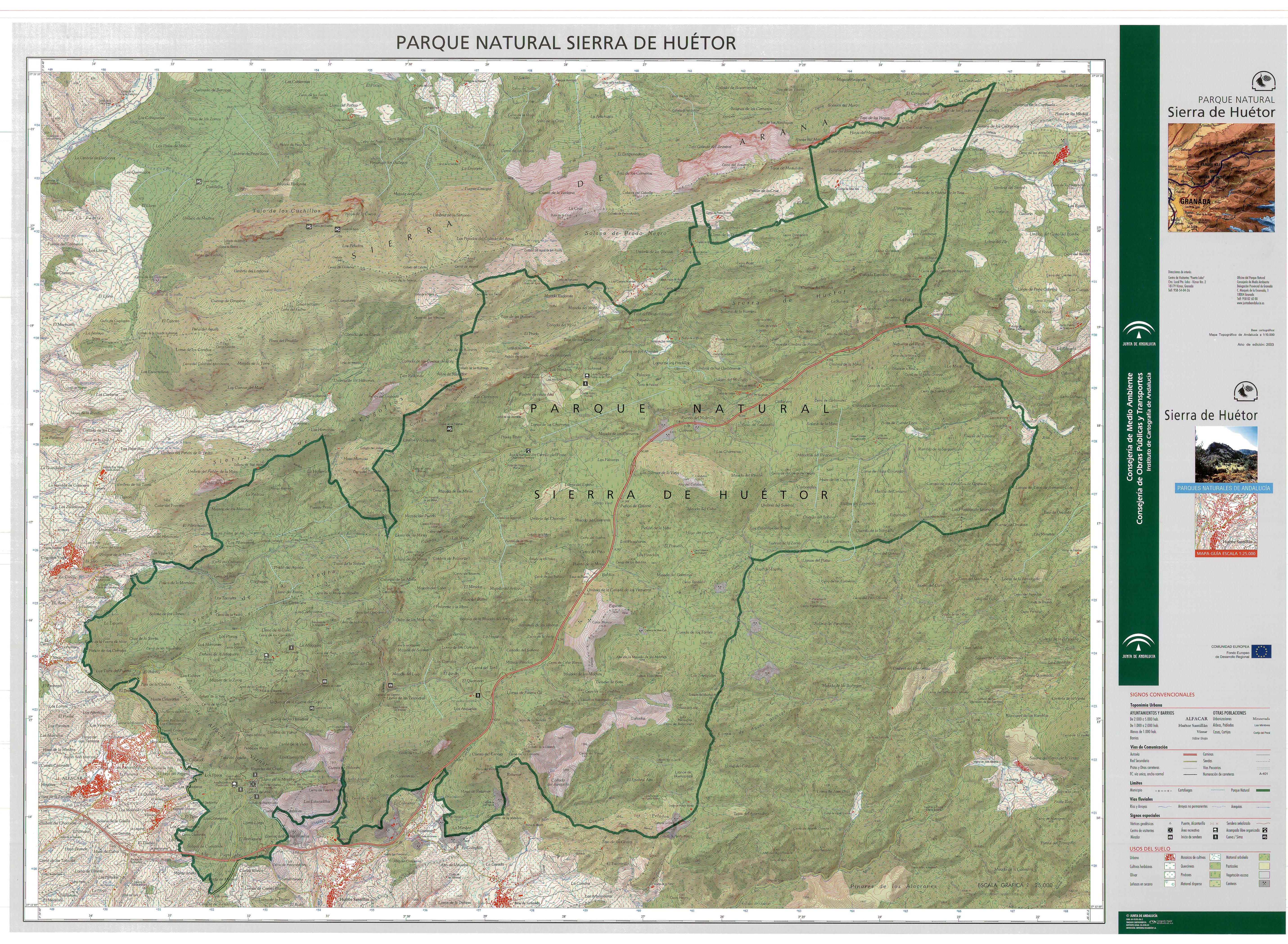 Parque Natural de Sierra de Huétor 2003
