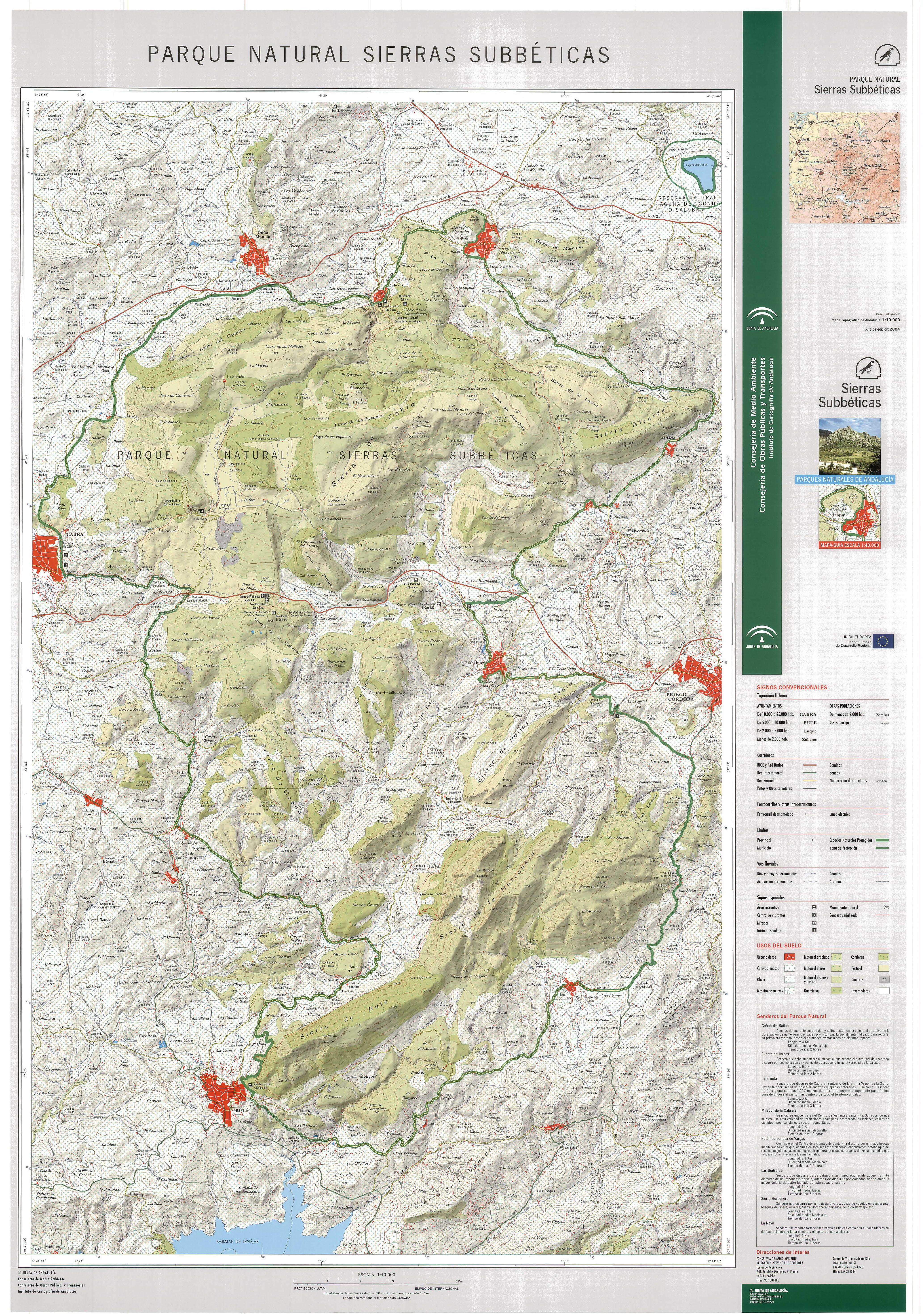 Sierras Subbéticas Natural Park 2004