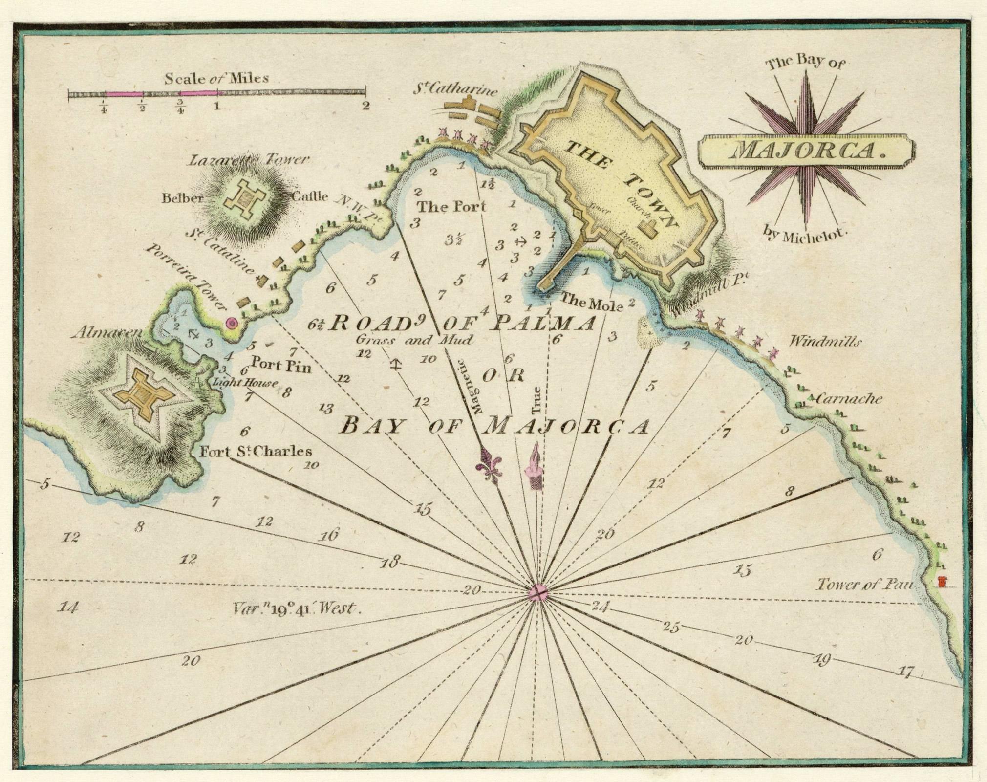 The Bay of Majorca 1810