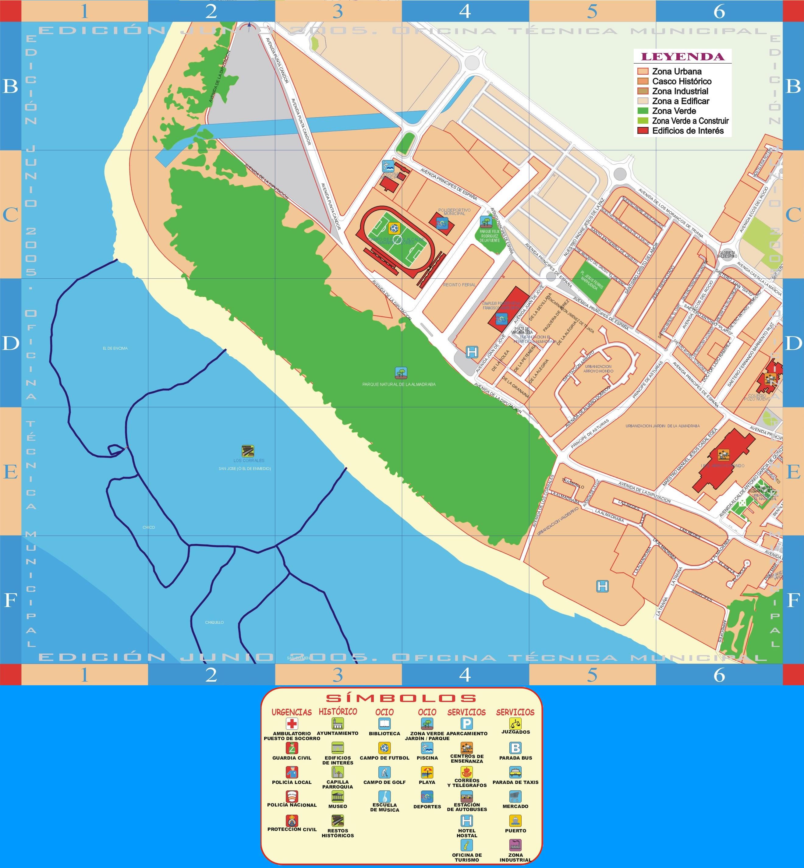 Mapa de Rota 2005 - parte 1