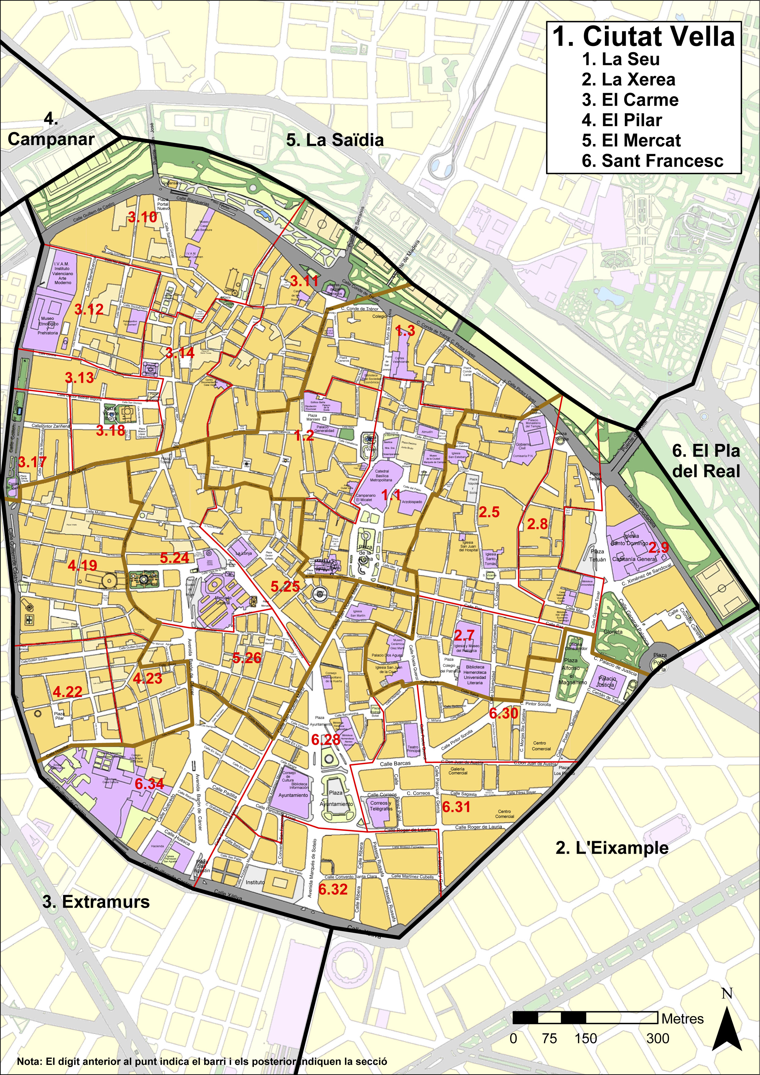 Ciutat Vella district, Valencia