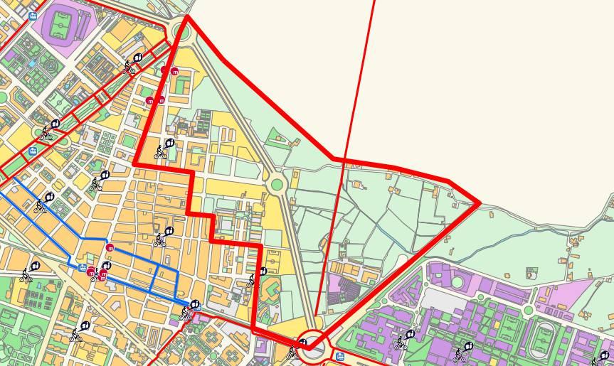 Neighborhood of Camí de Vera, Valencia