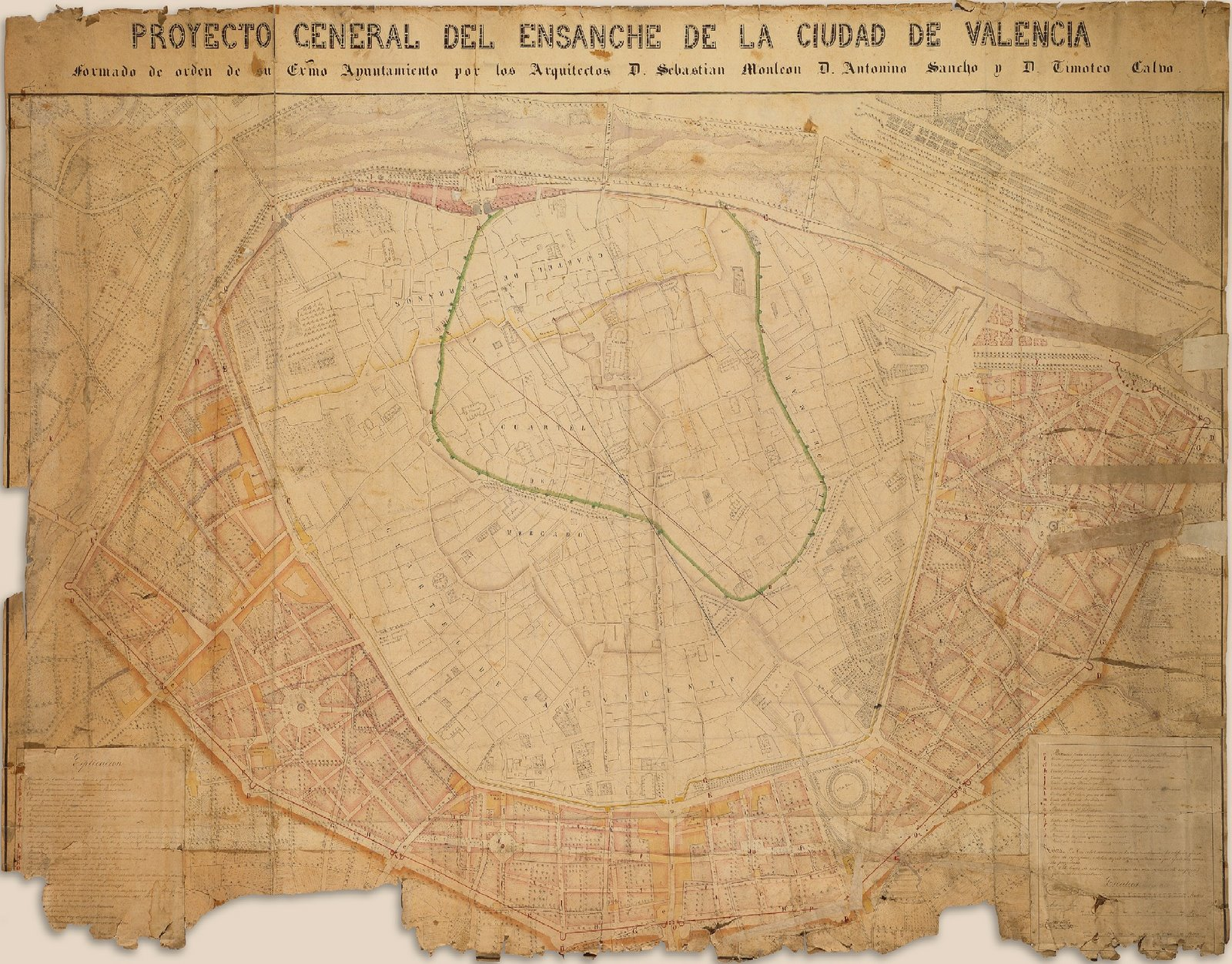 Widening / expansion project of Valencia 1858