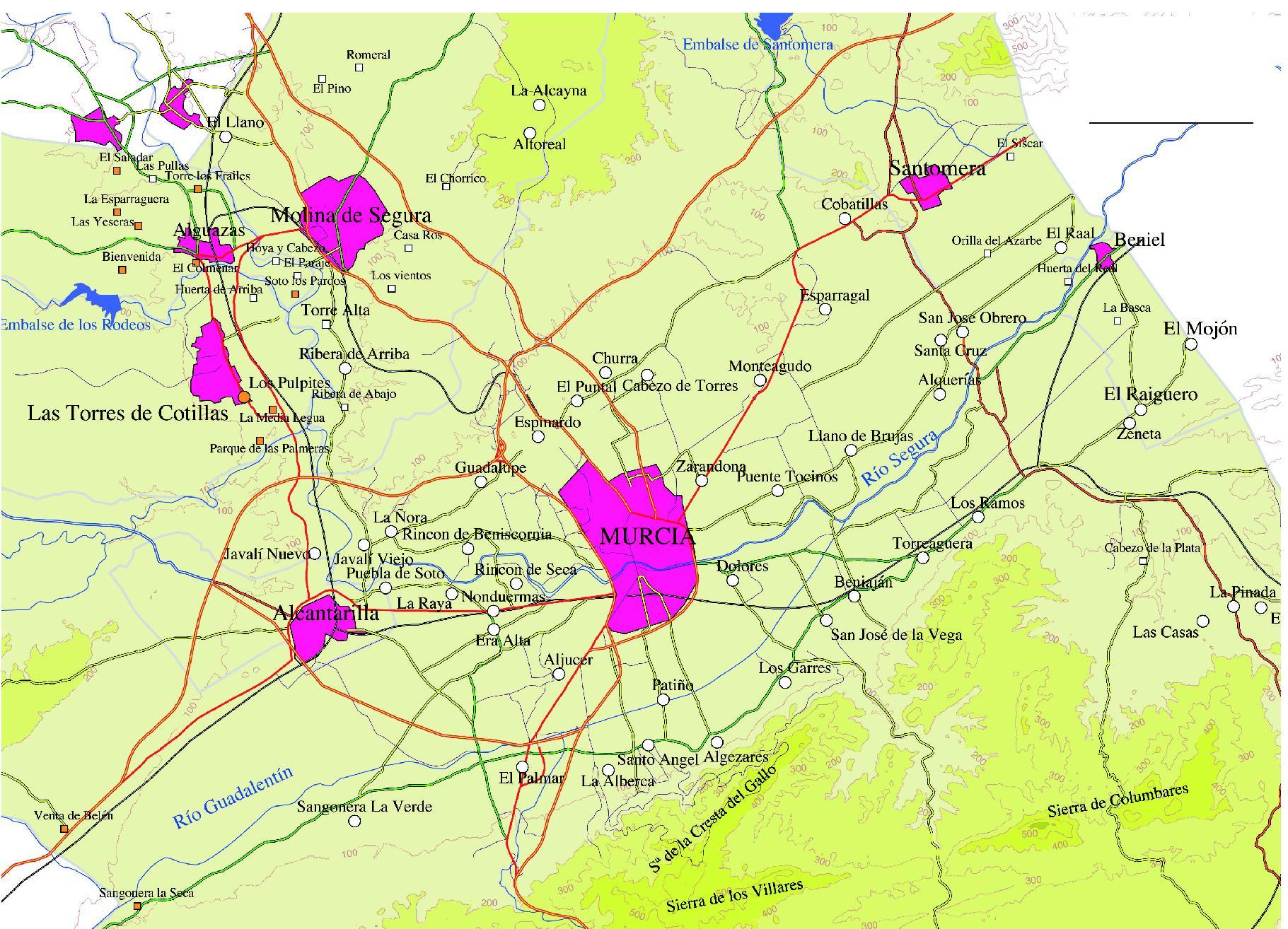 Metropolitan Area of Murcia