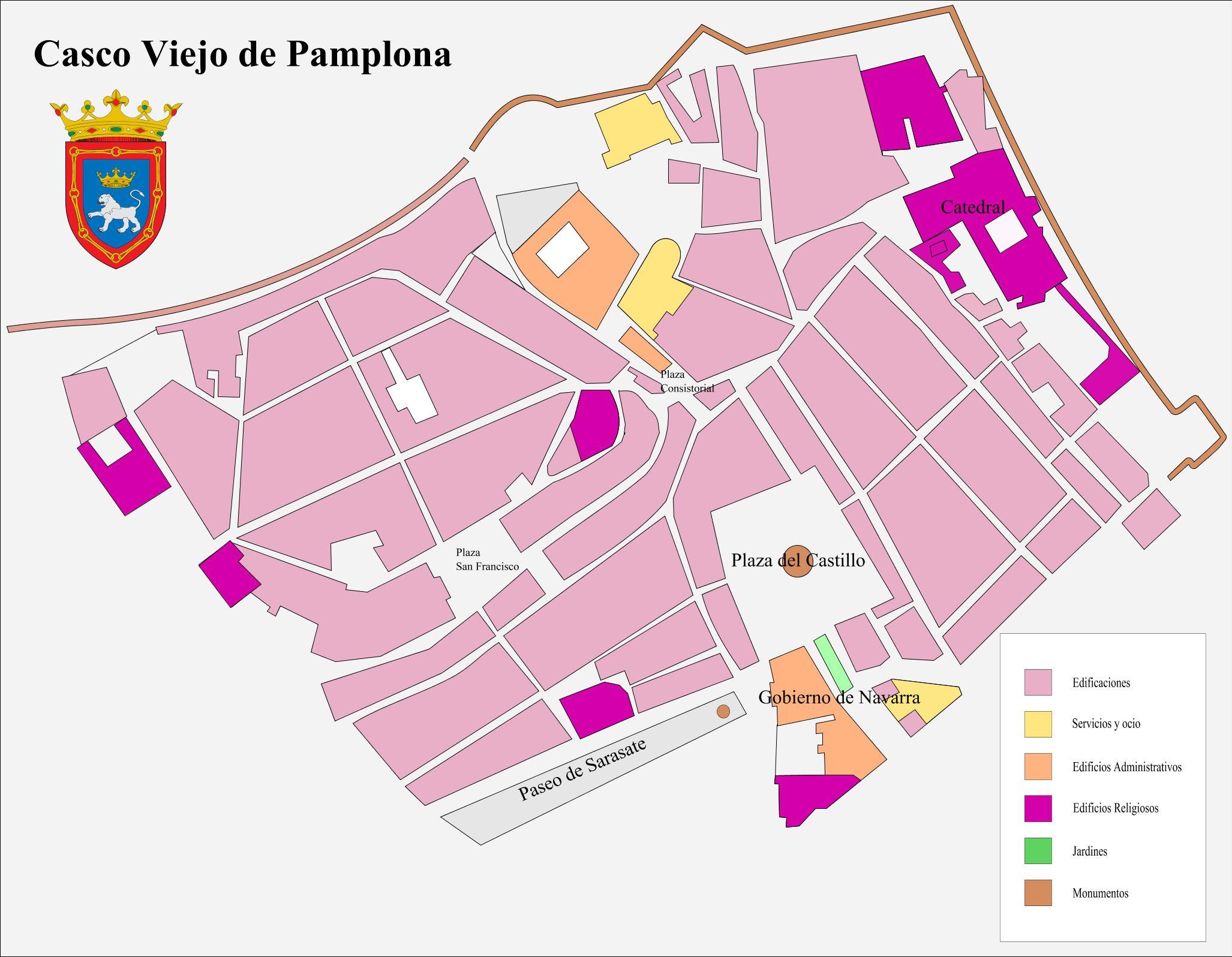 Casco Viejo de Pamplona