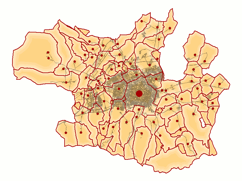 Concejos and City of Vitoria 2008
