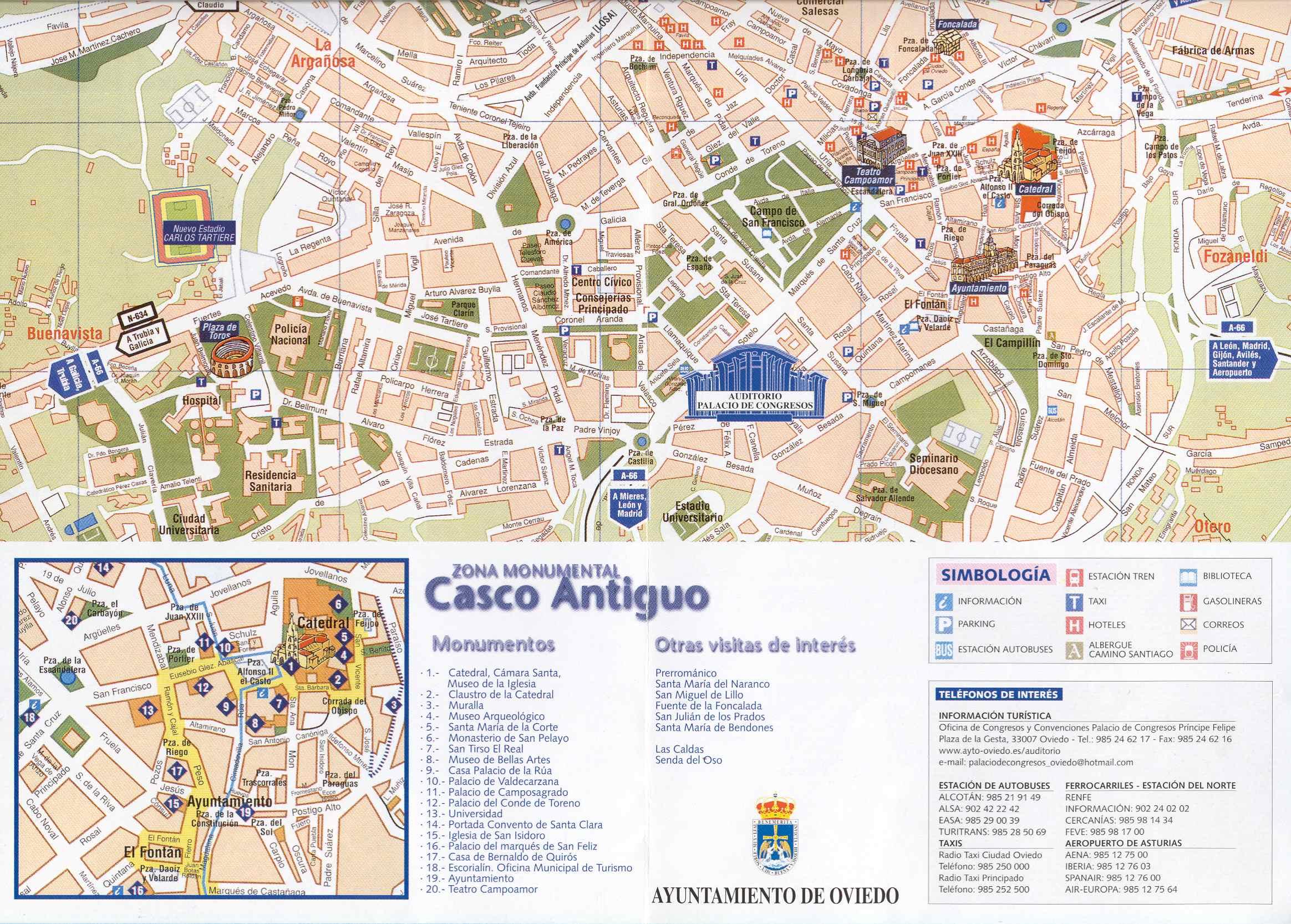 Casco antiguo de Oviedo