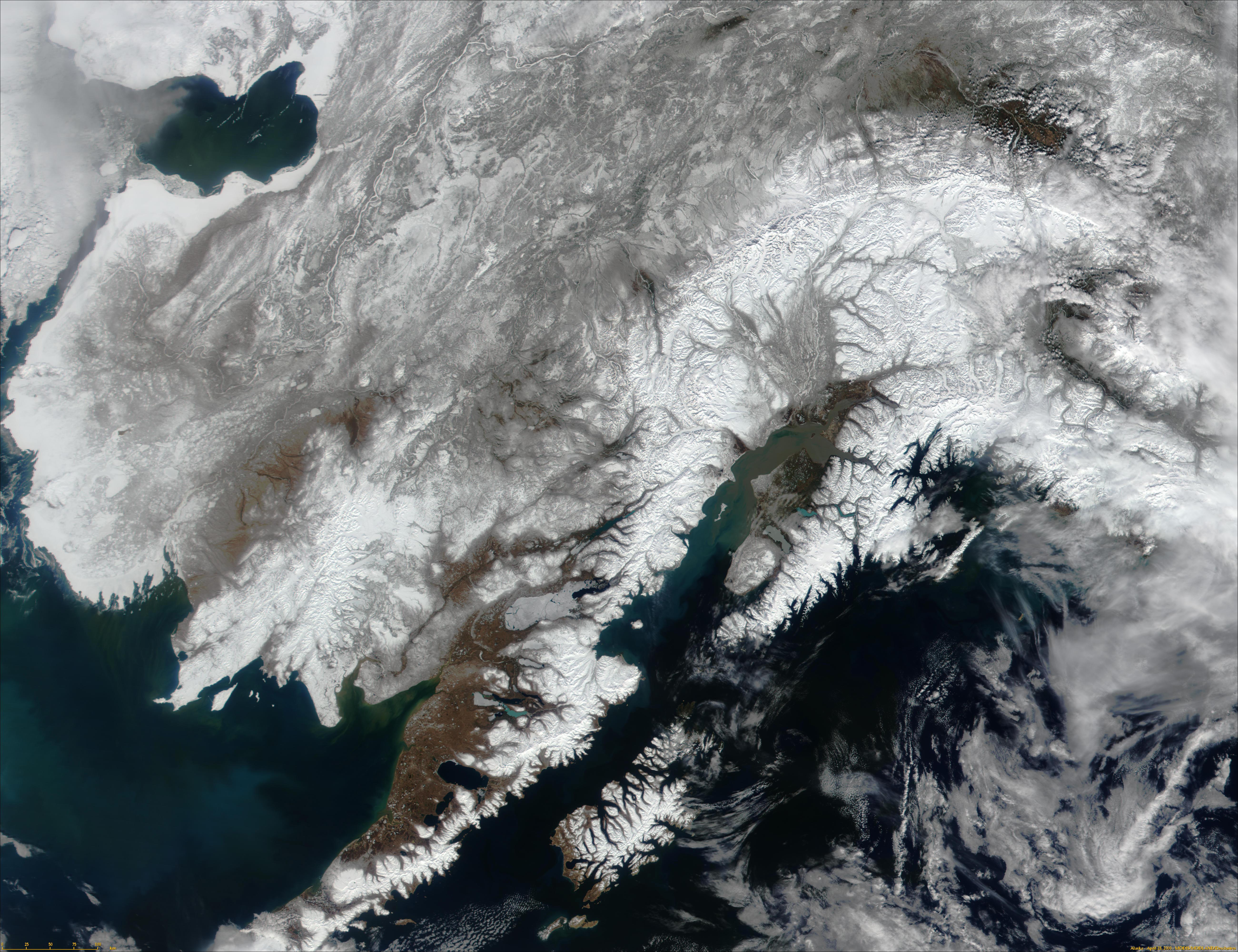 Alaska from MODIS