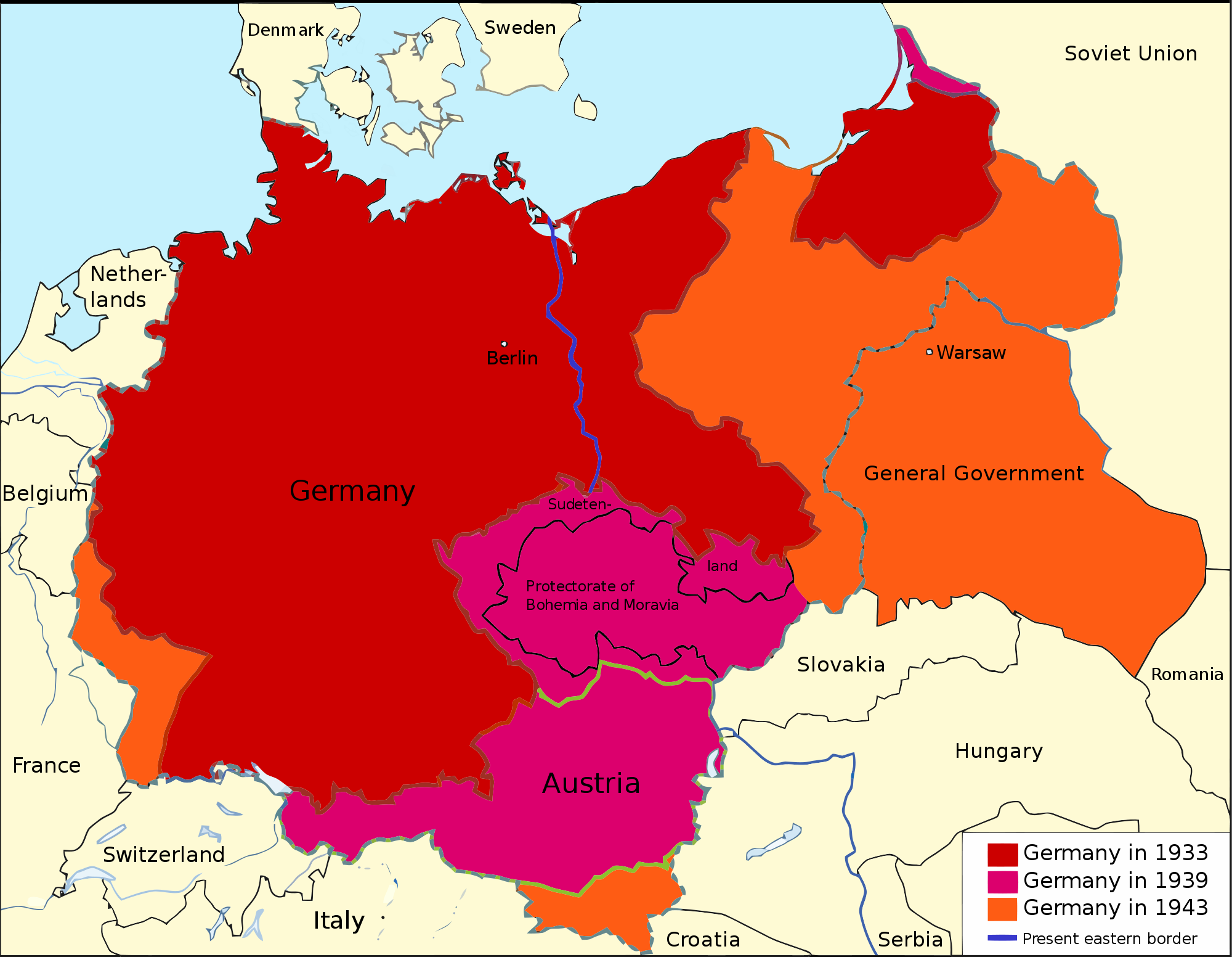 Nazi Germany or the Third Reich 1933–1943