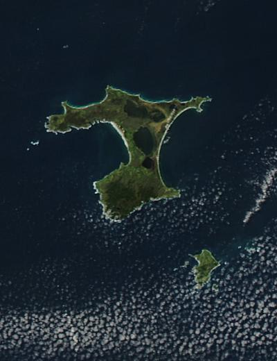 Chatham Islands, east of New Zealand