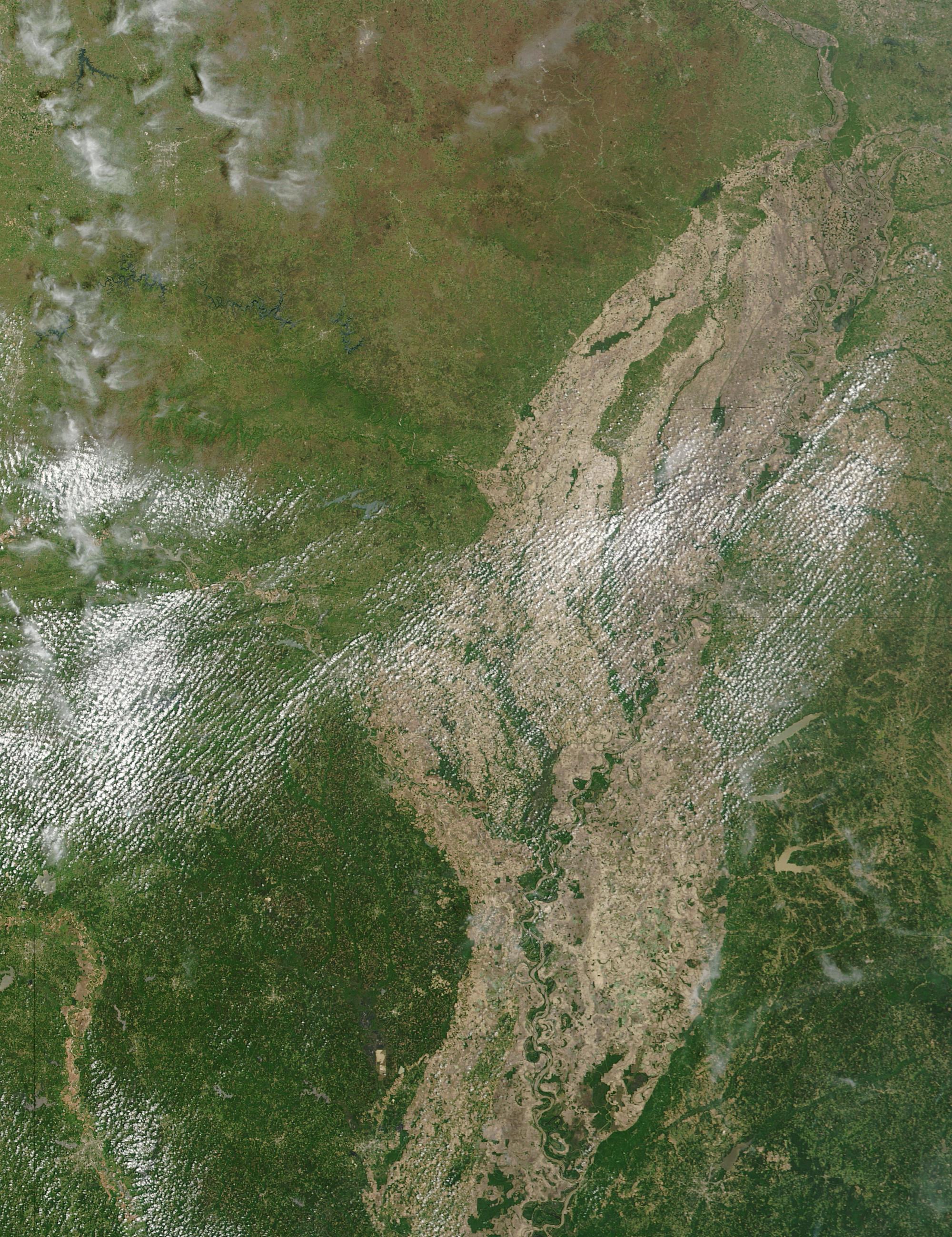 Arkansas (antes de las inundaciones)