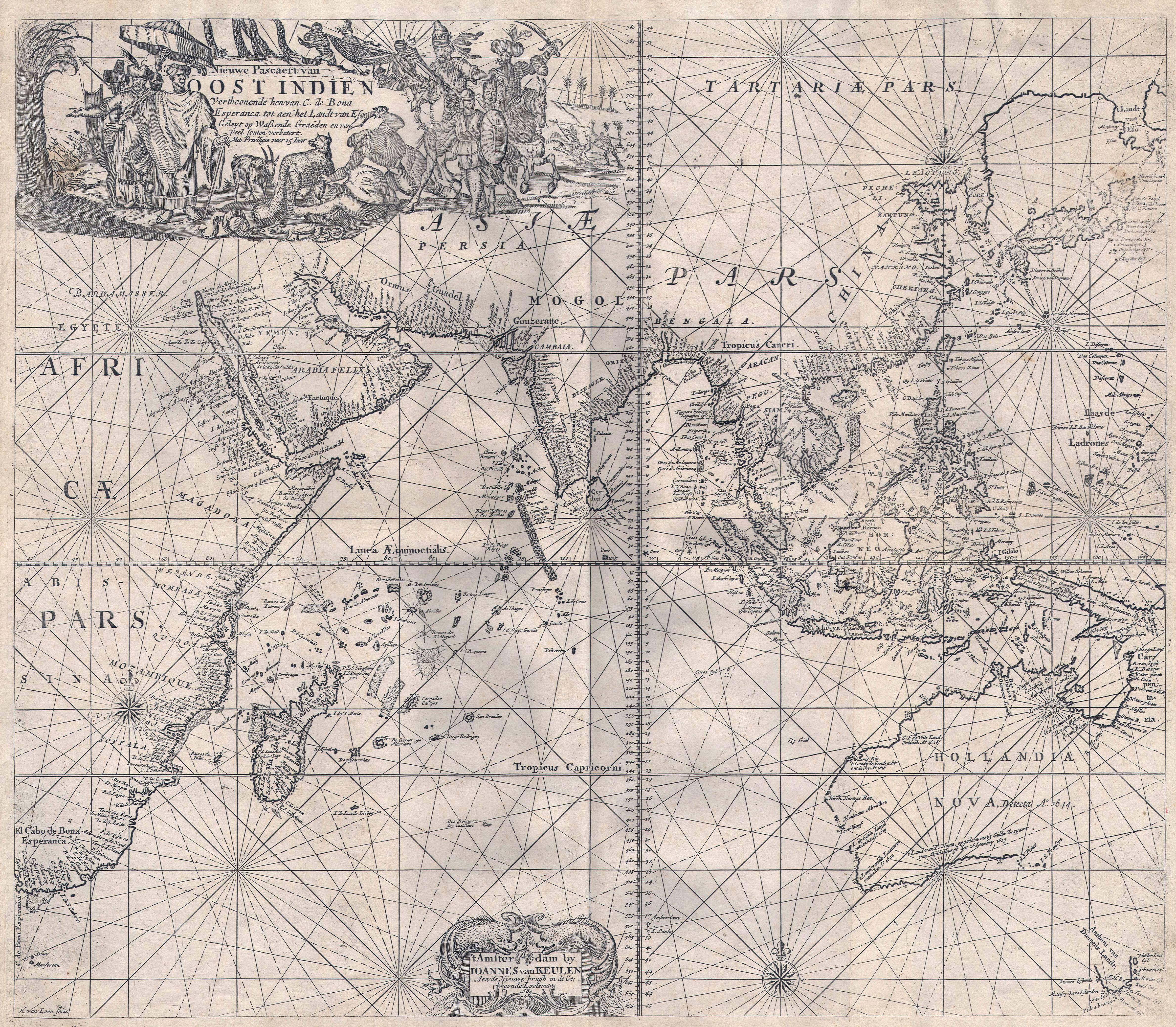 Asia in 1689