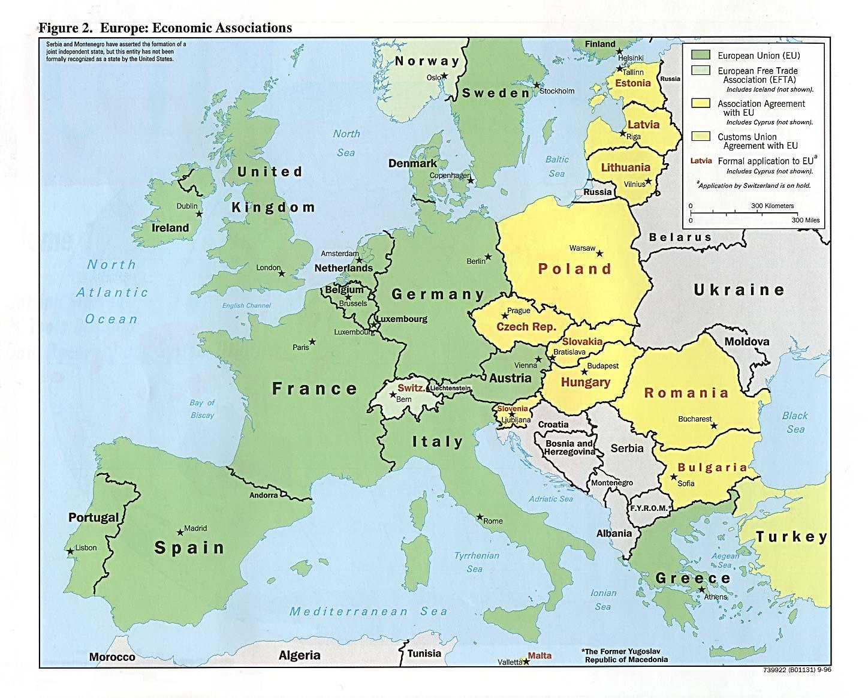 Asociaciones Económicas Europeas 1996