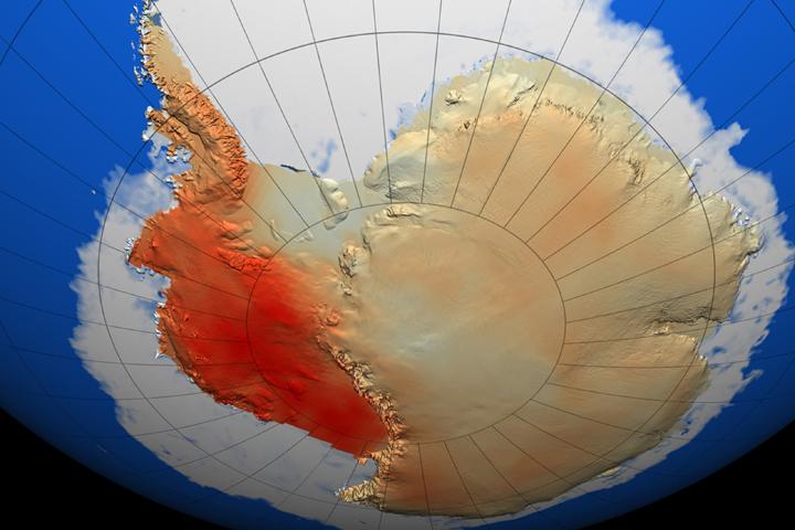 Calentamiento de la Antártida