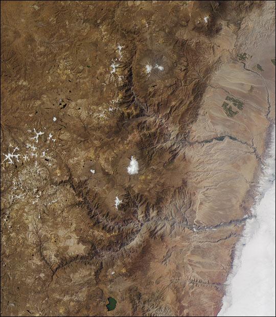 Cañones más profundos de los Andes