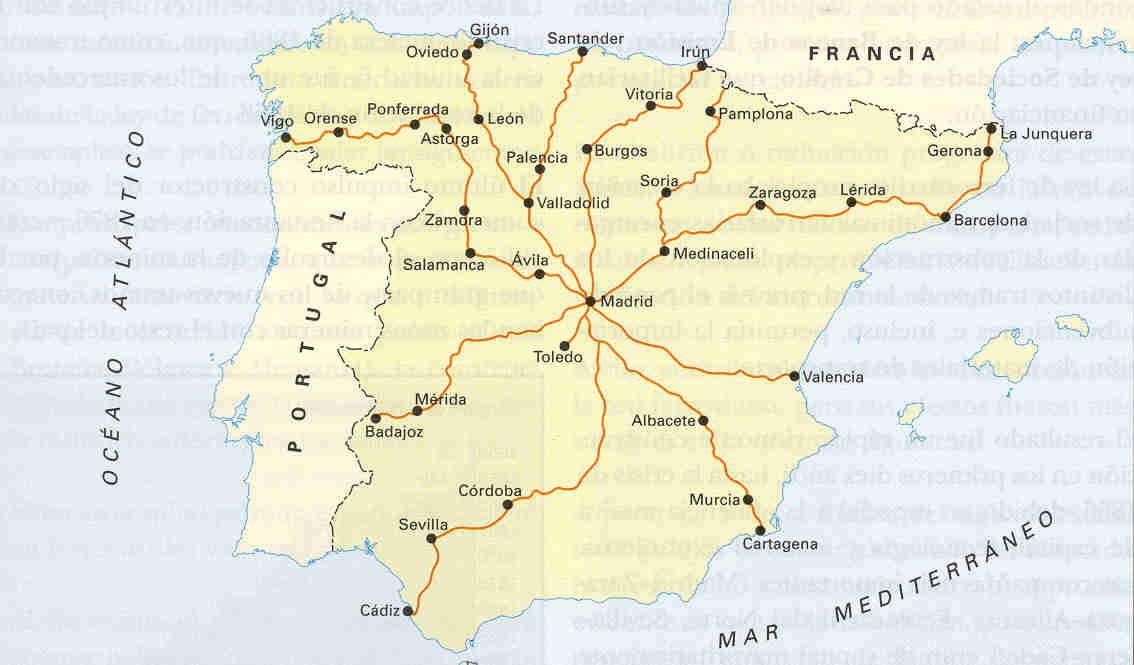 Carreteras de España a finales del siglo XIX