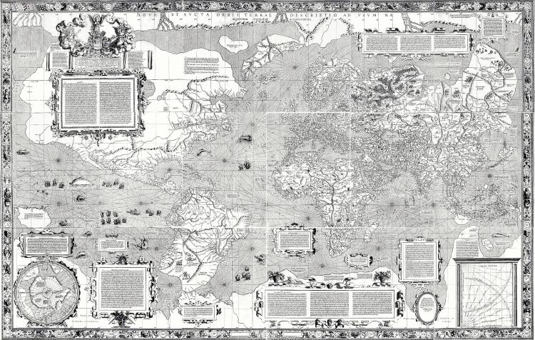 Carta del Mundo de Mercator 1569