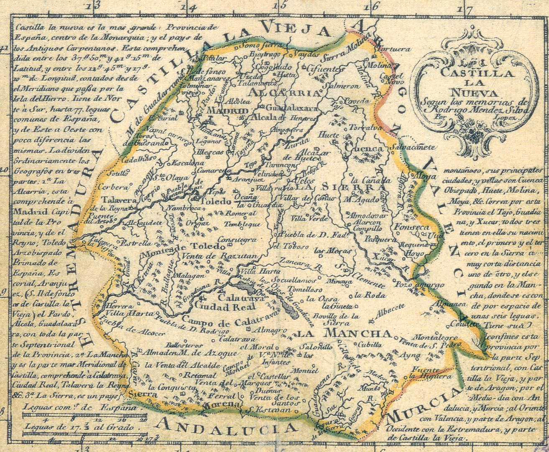 New Castile 1785