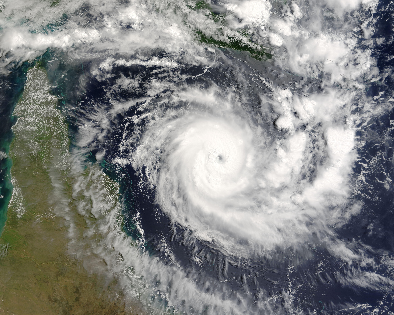 Ciclón tropical Ingrid (22P) al este de la Península del Cabo York, Australia
