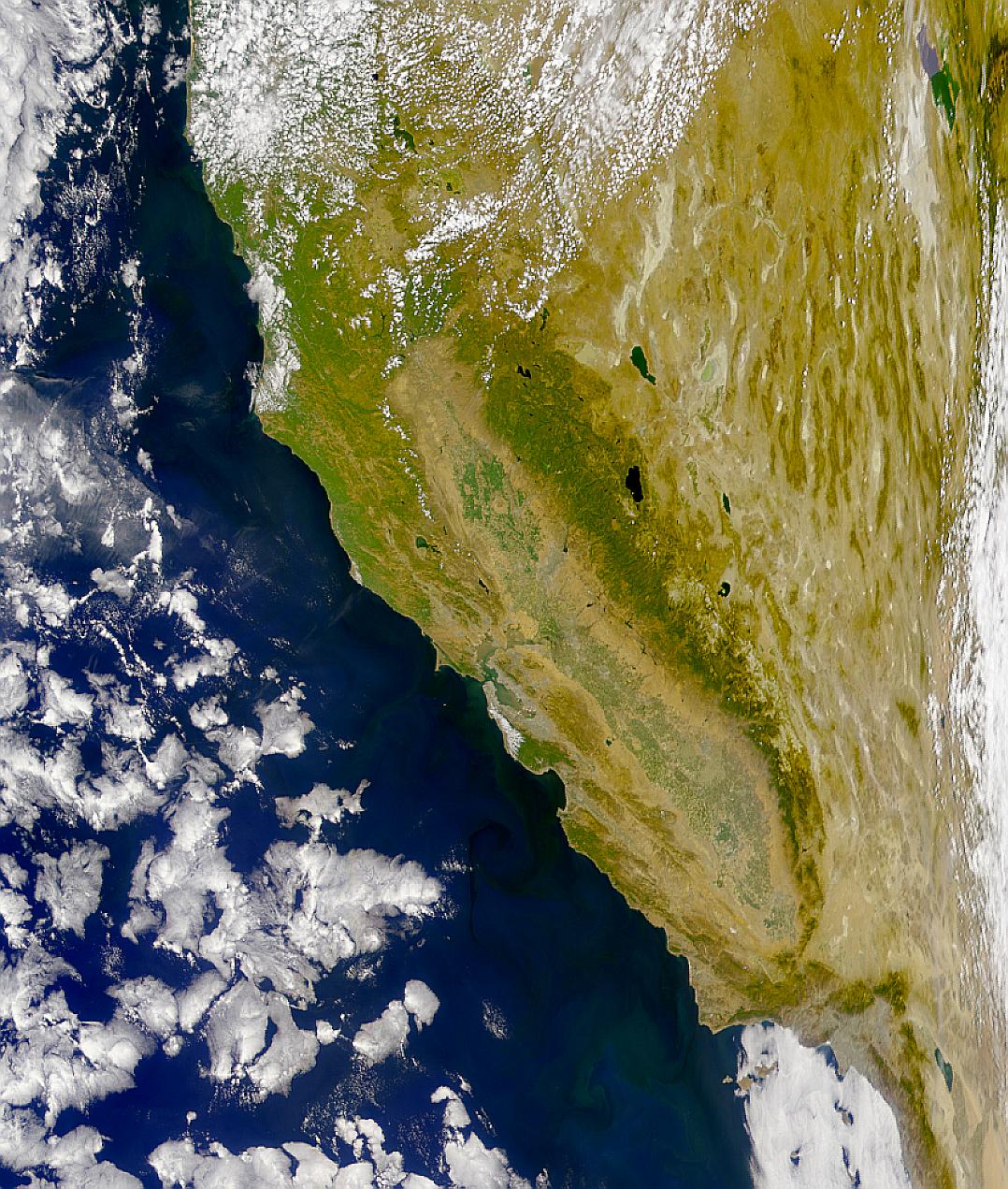 Claridad del agua en California