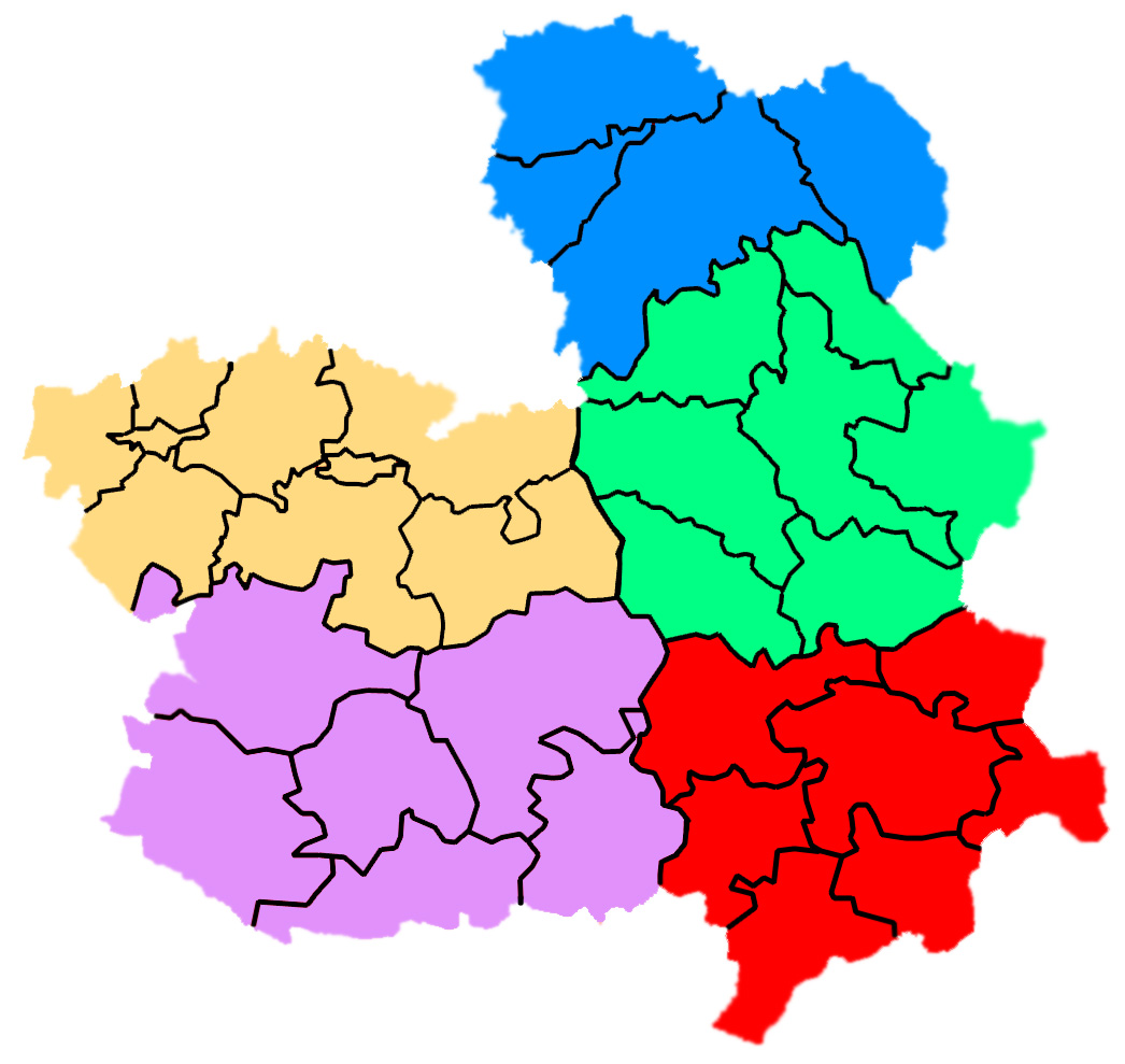 Comarcas de Castilla-La Mancha 2007
