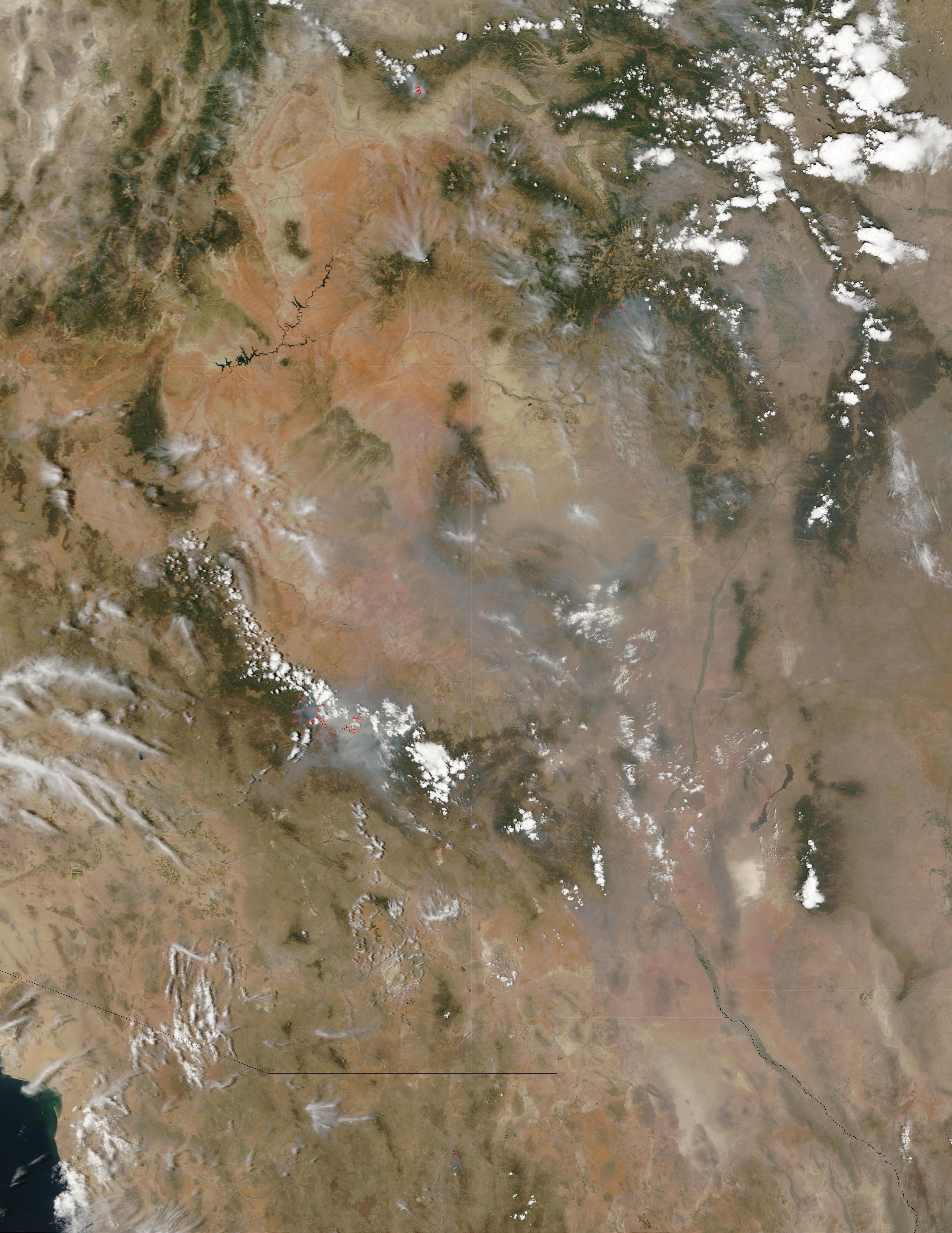 Complejo de incendios Rodeo - Chediski, Arizona