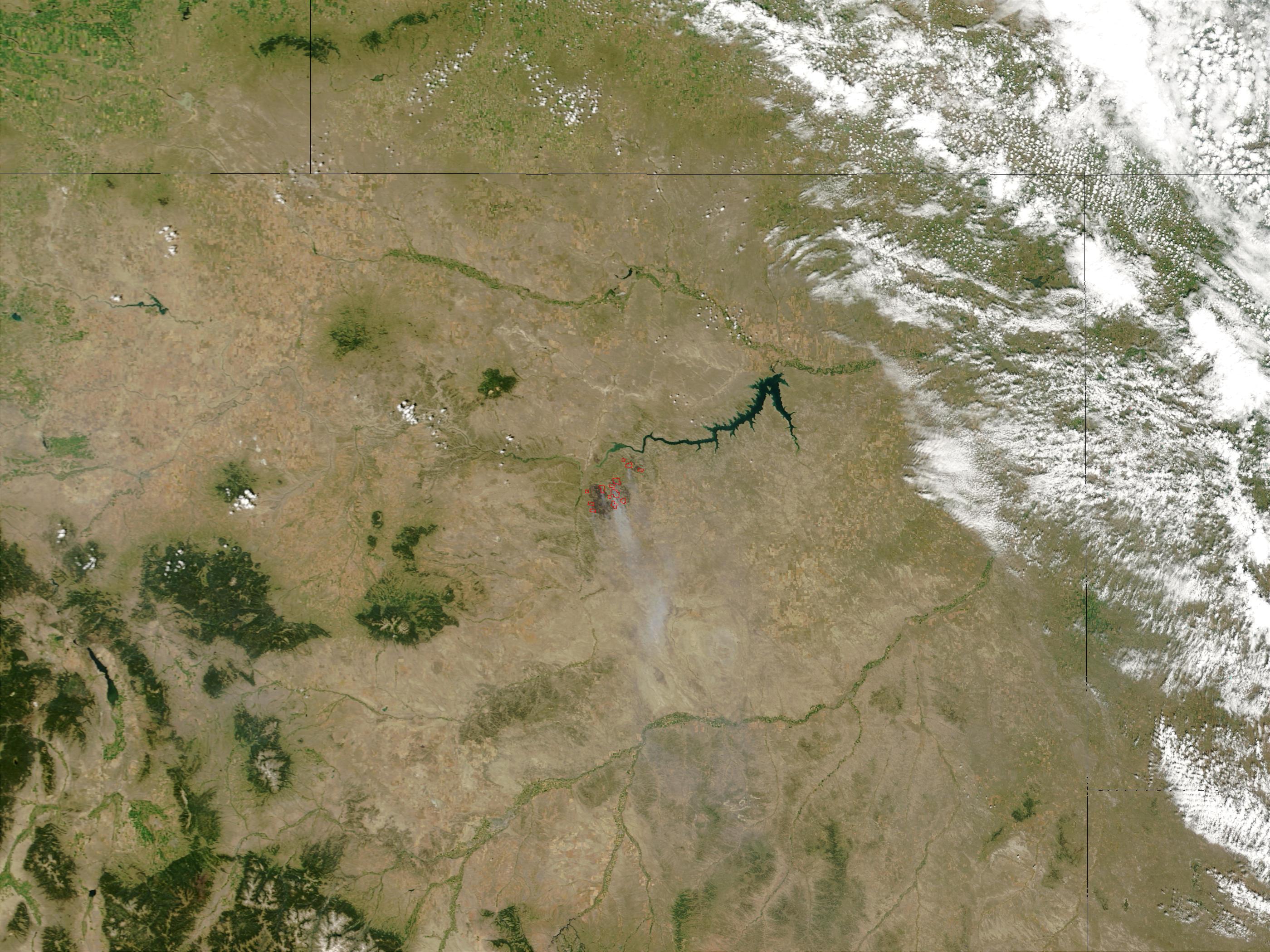 Complejo de incendios de Missouri Breaks, Montana