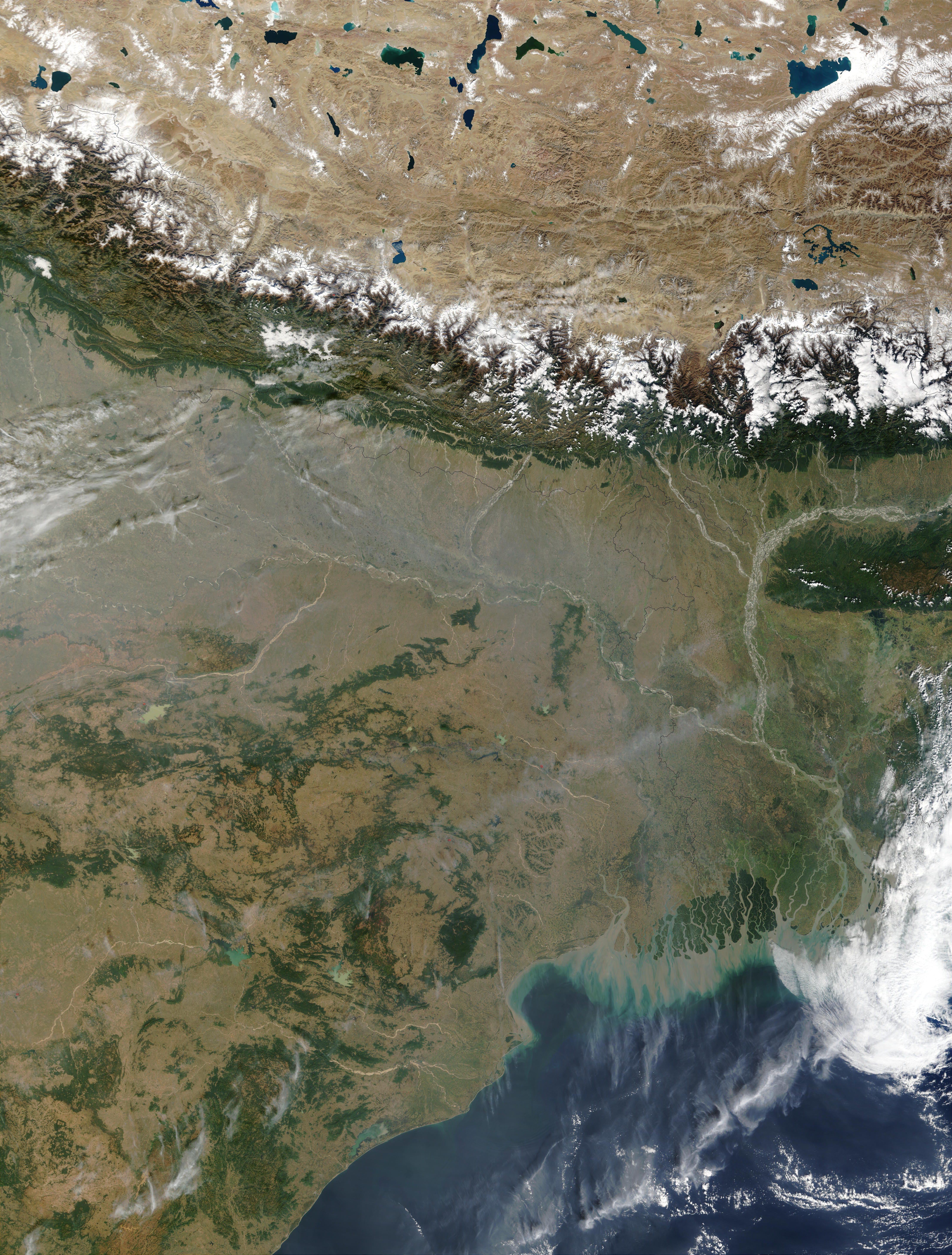 Pollution in Northeast India
