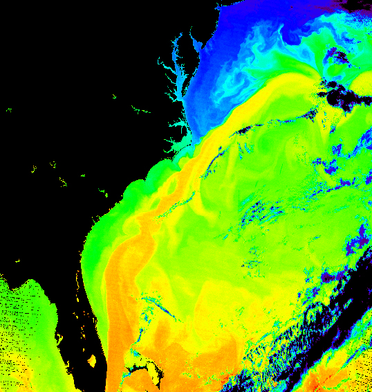 Gulf Stream off US East Coast