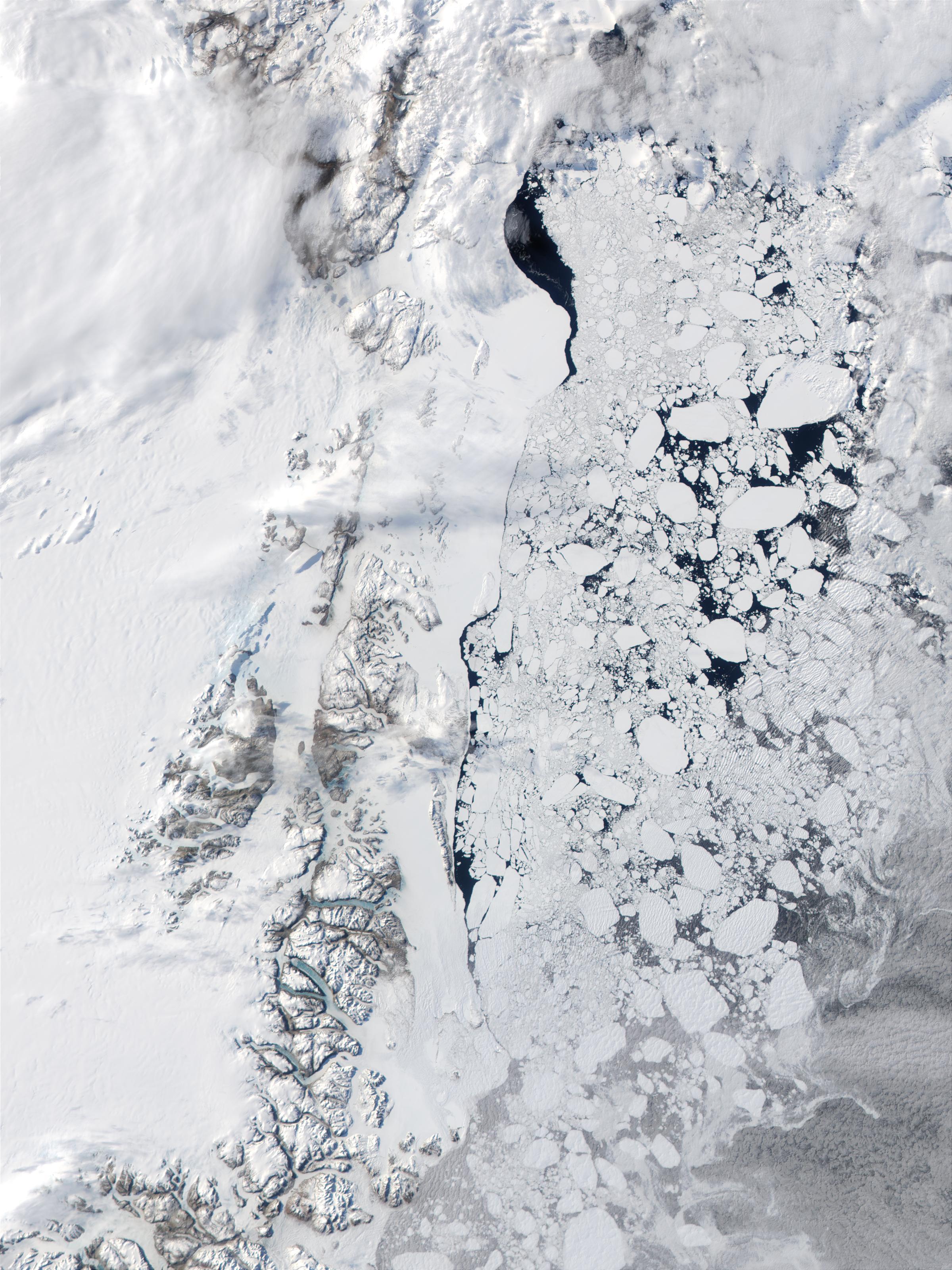 Costa este de Groenlandia