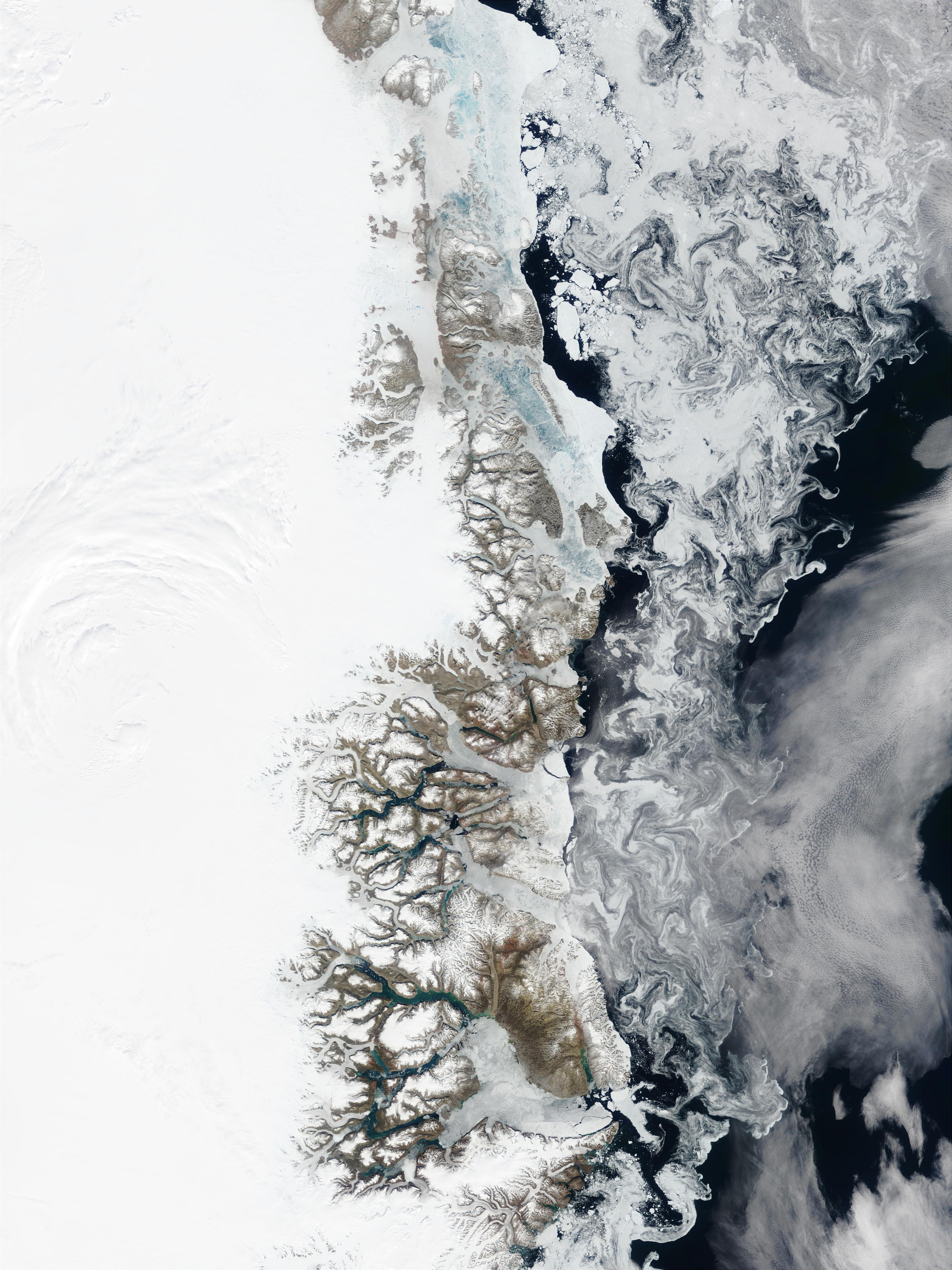 Greenland East Coast