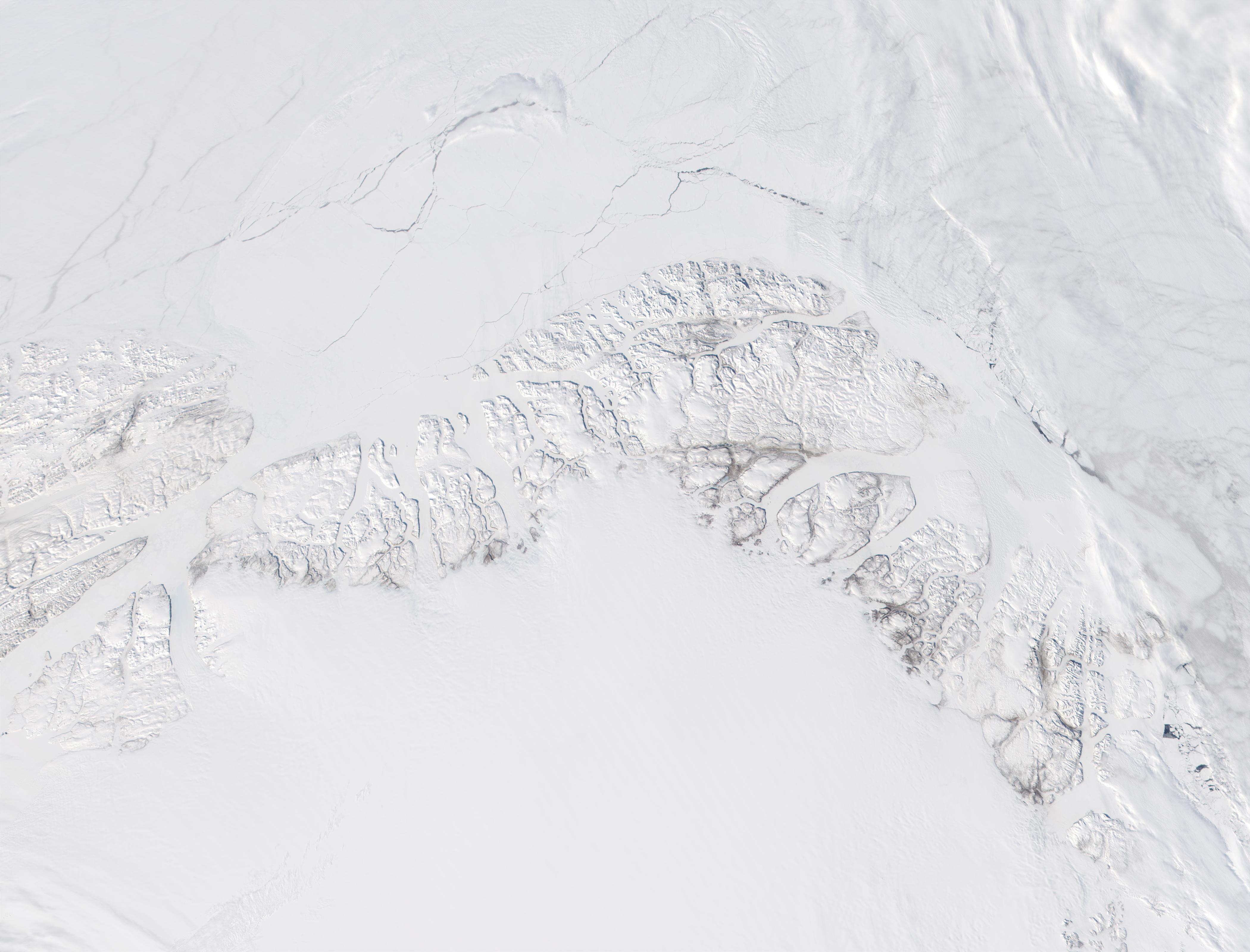 Costa norte de Groenlandia