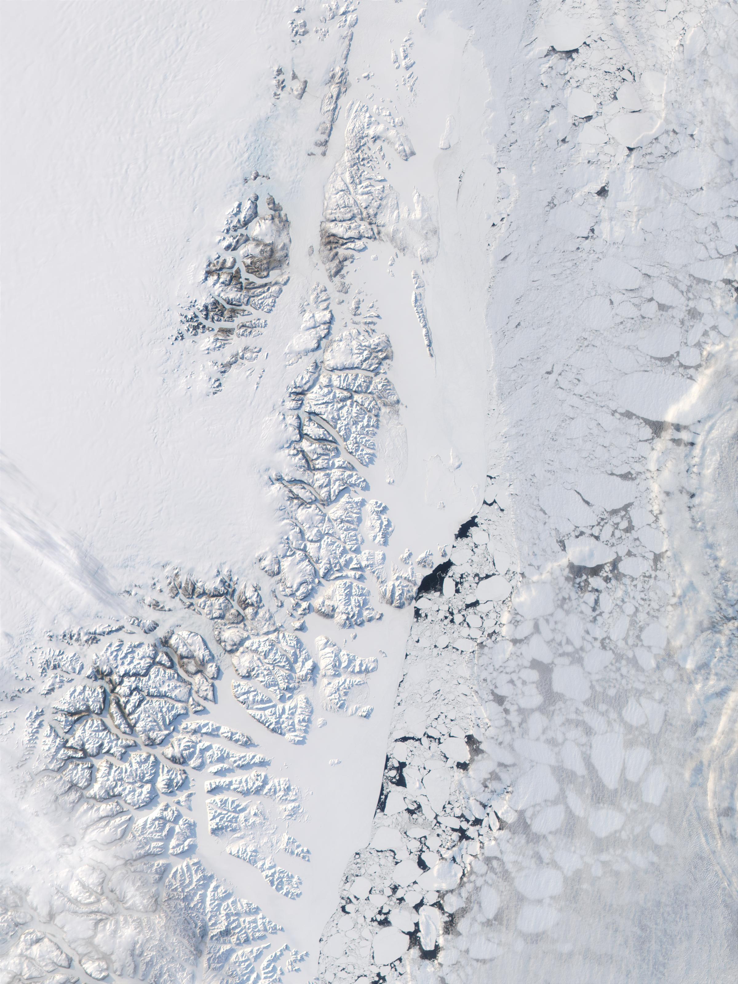 Costa oriental de Groenlandia y Mar de Groenlandia