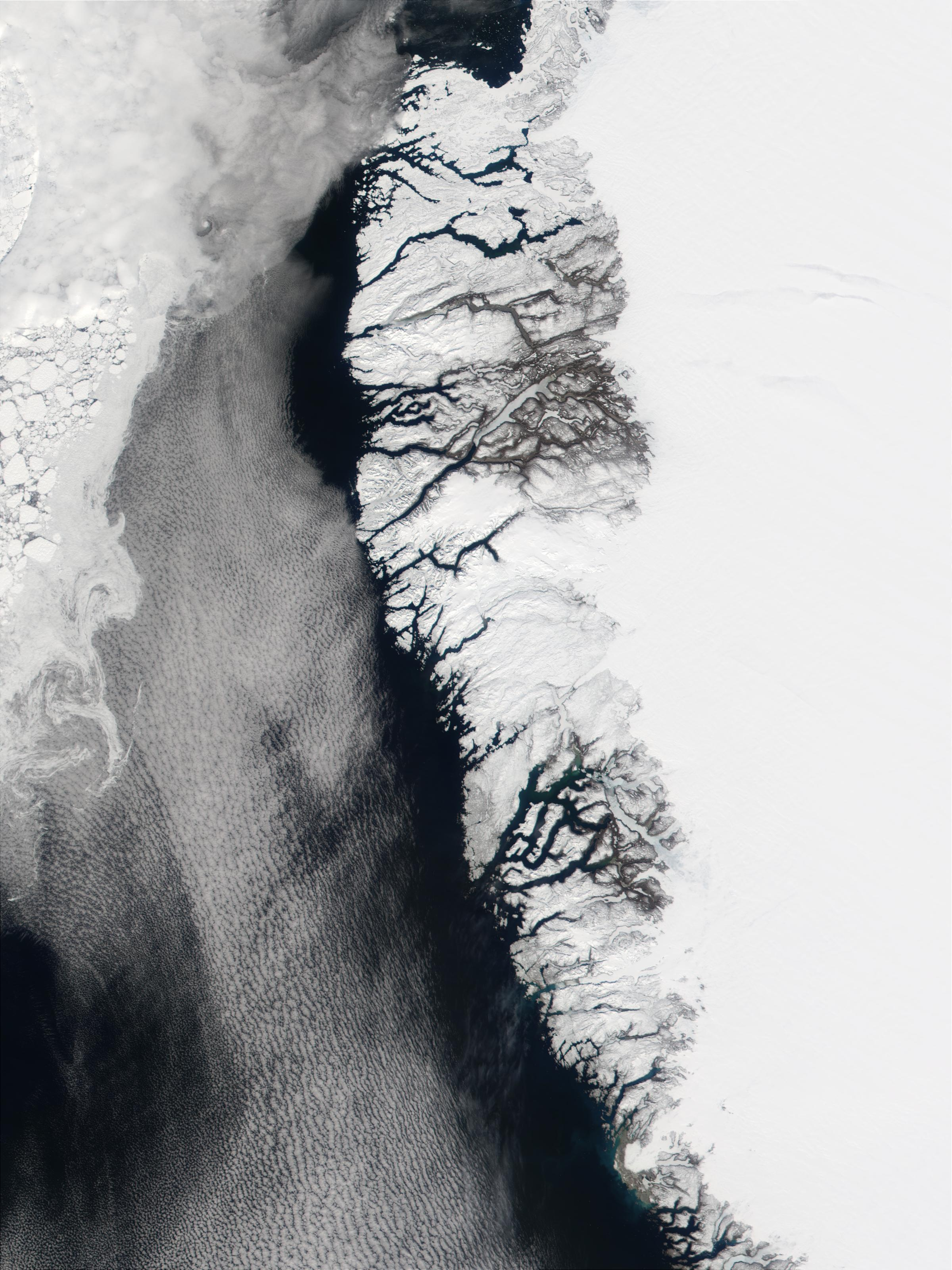 Southwest coast of Greenland and Davis Strait