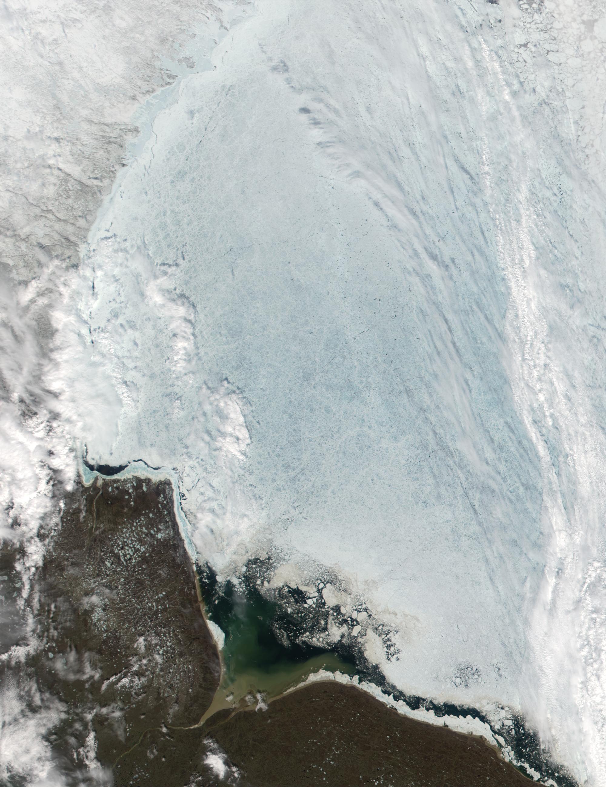 Southwest coast of Hudson Bay, Canada